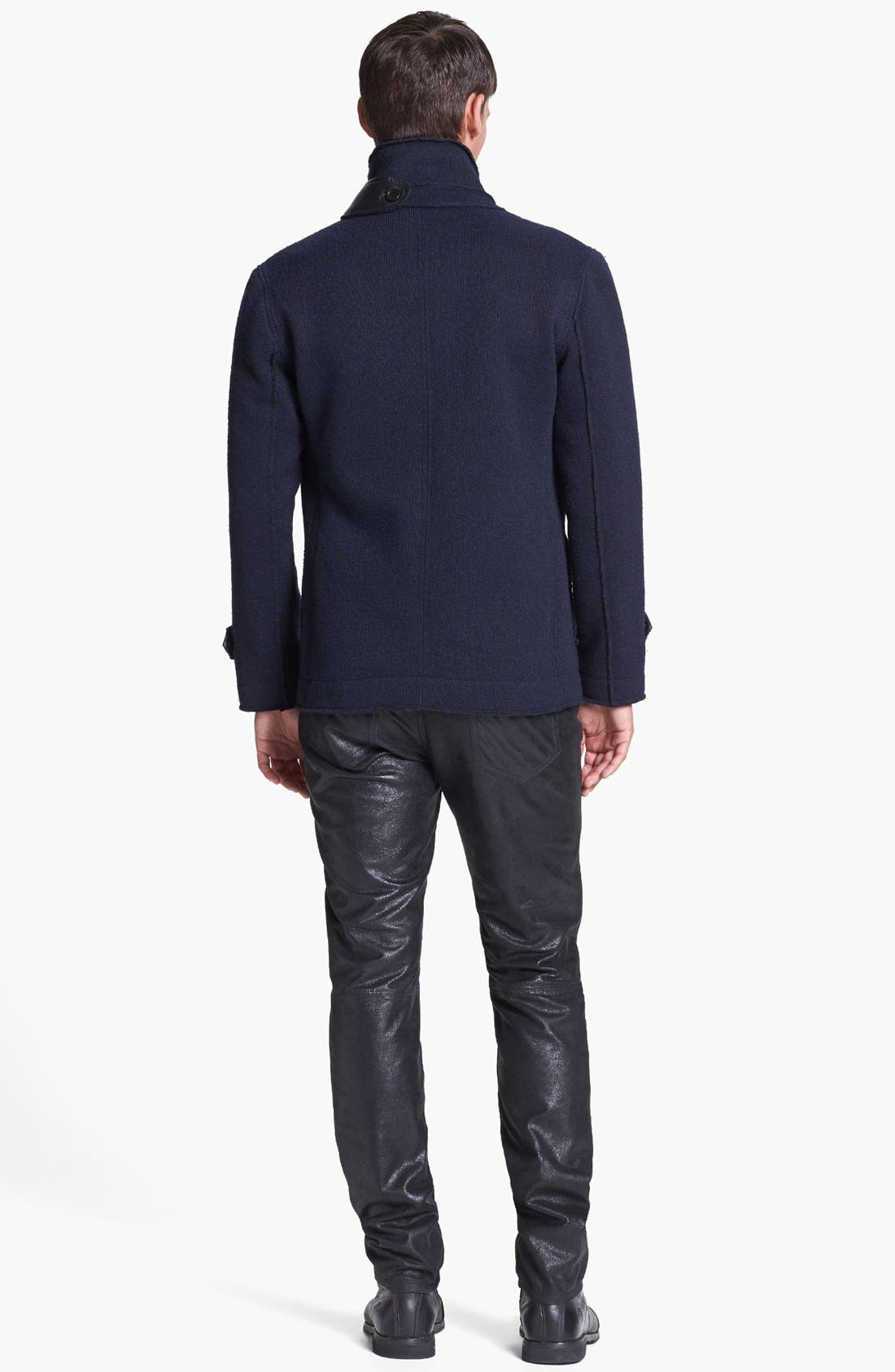 Alternate Image 5  - Kenneth Cole Collection Double Breasted Knit Jacket
