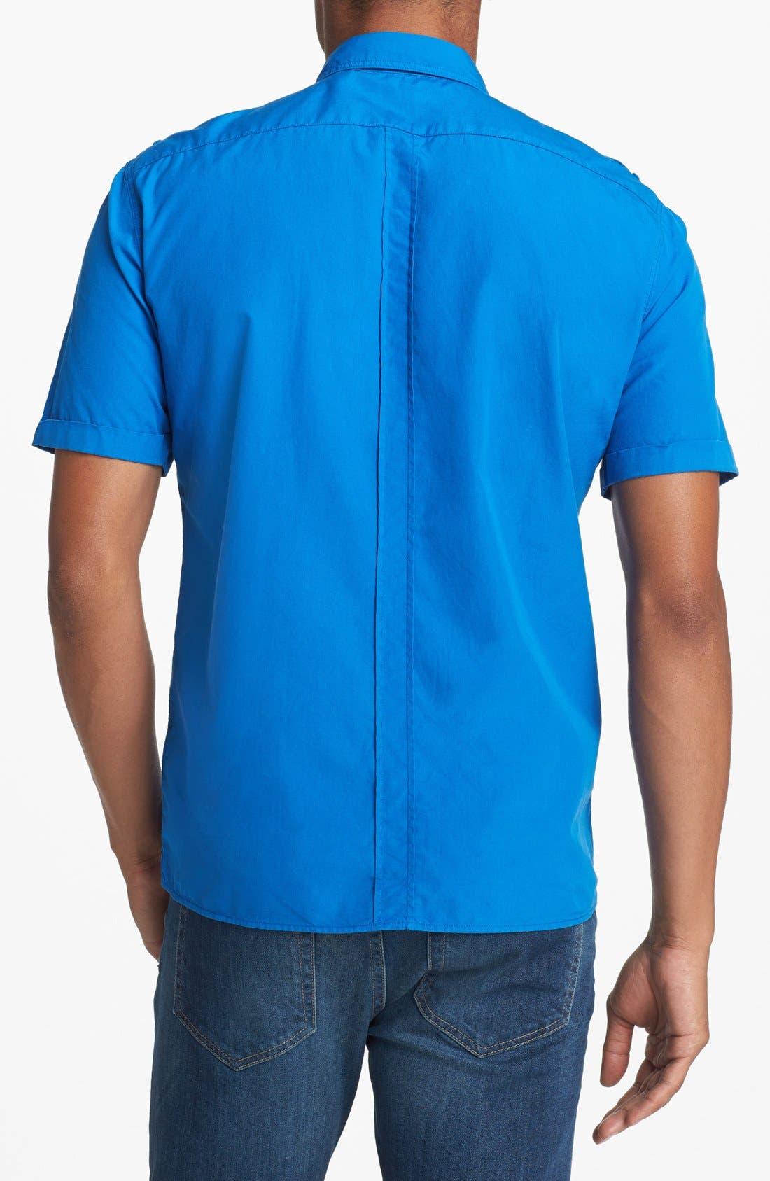 Alternate Image 2  - Burberry Brit 'Keeling' Short Sleeve Sport Shirt