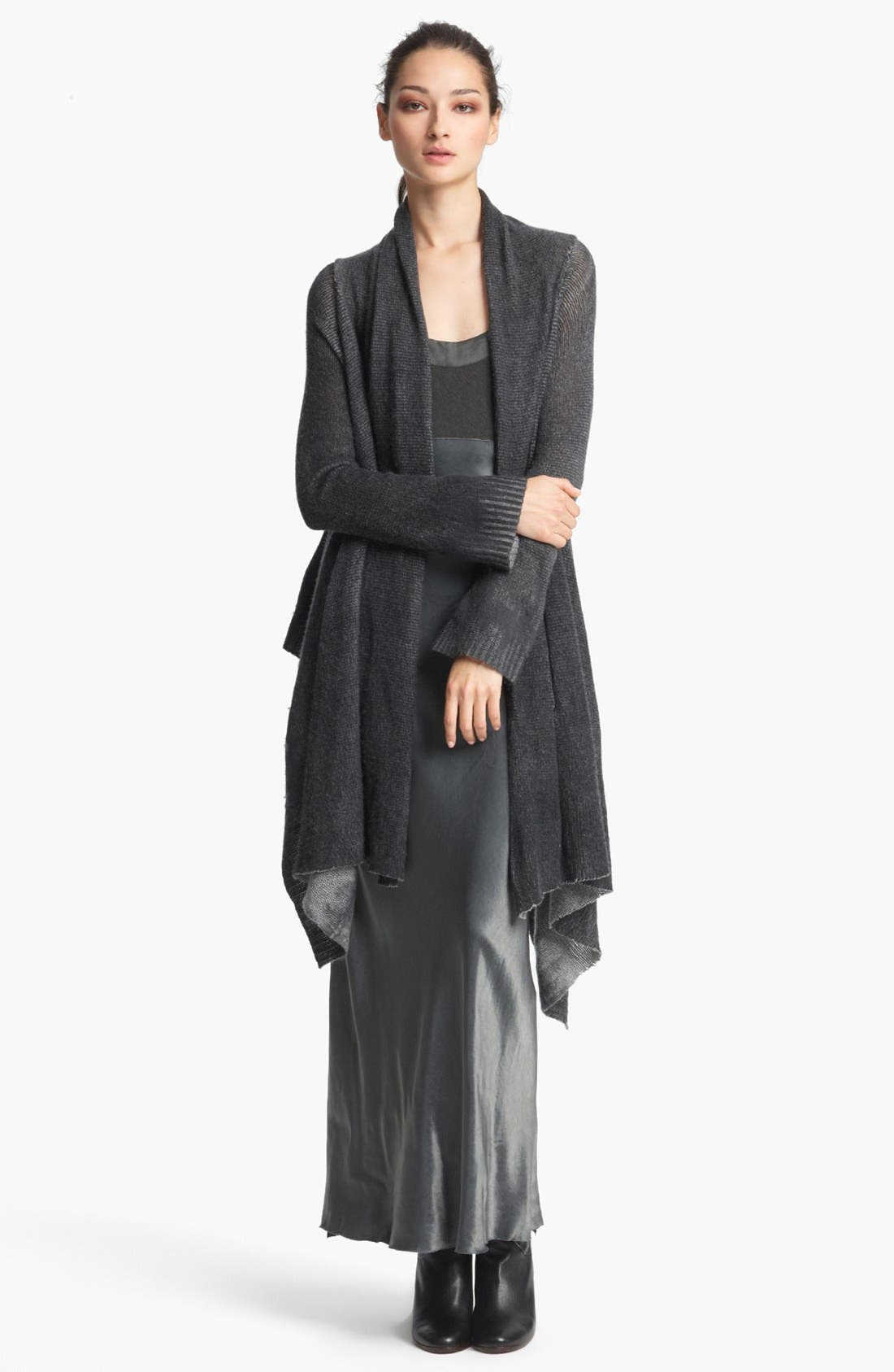 Alternate Image 1 Selected - Donna Karan Collection Shawl Collar Cashmere Cozy