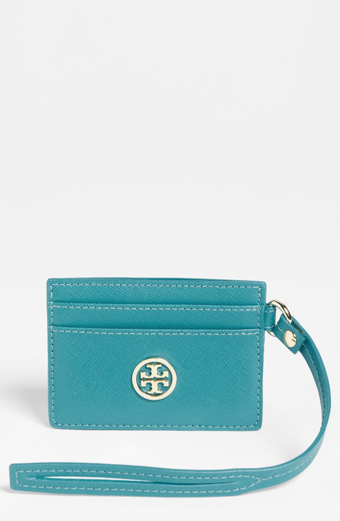 Alternate Image 1 Selected - Tory Burch 'Robinson - Pass Through' Card Case