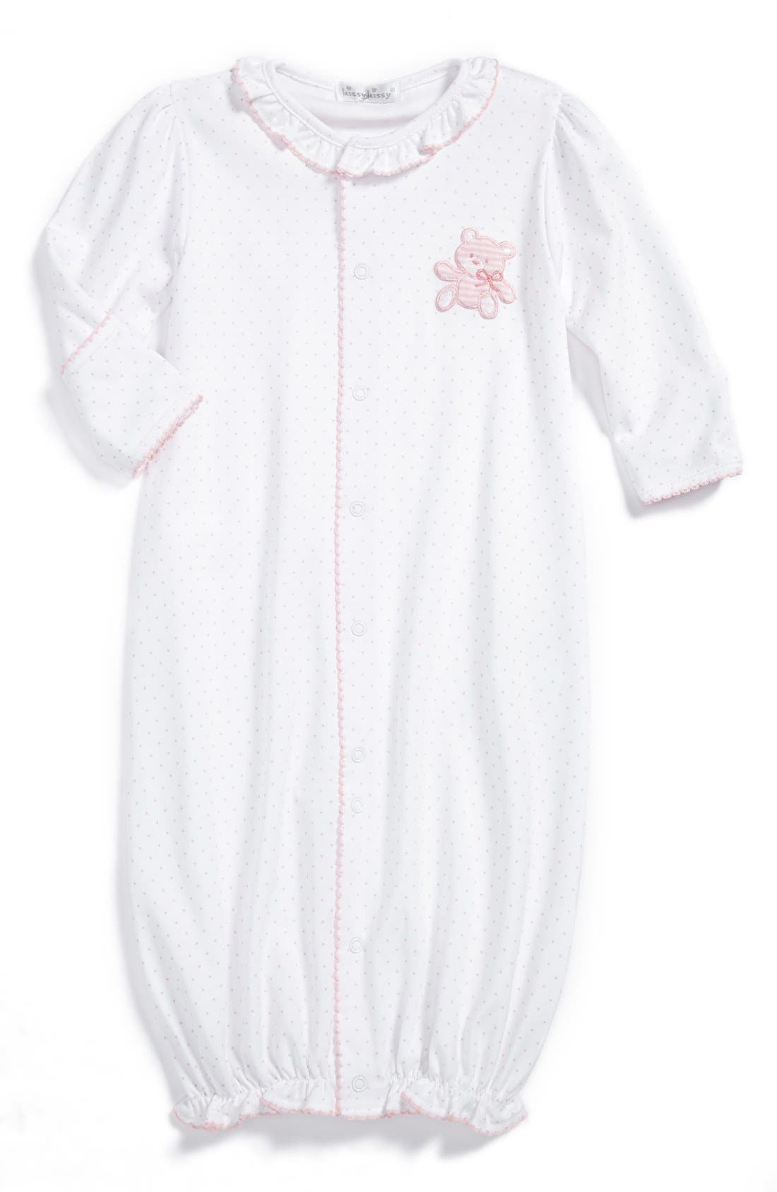 Main Image - Kissy Kissy Convertible Gown (Baby Girls)