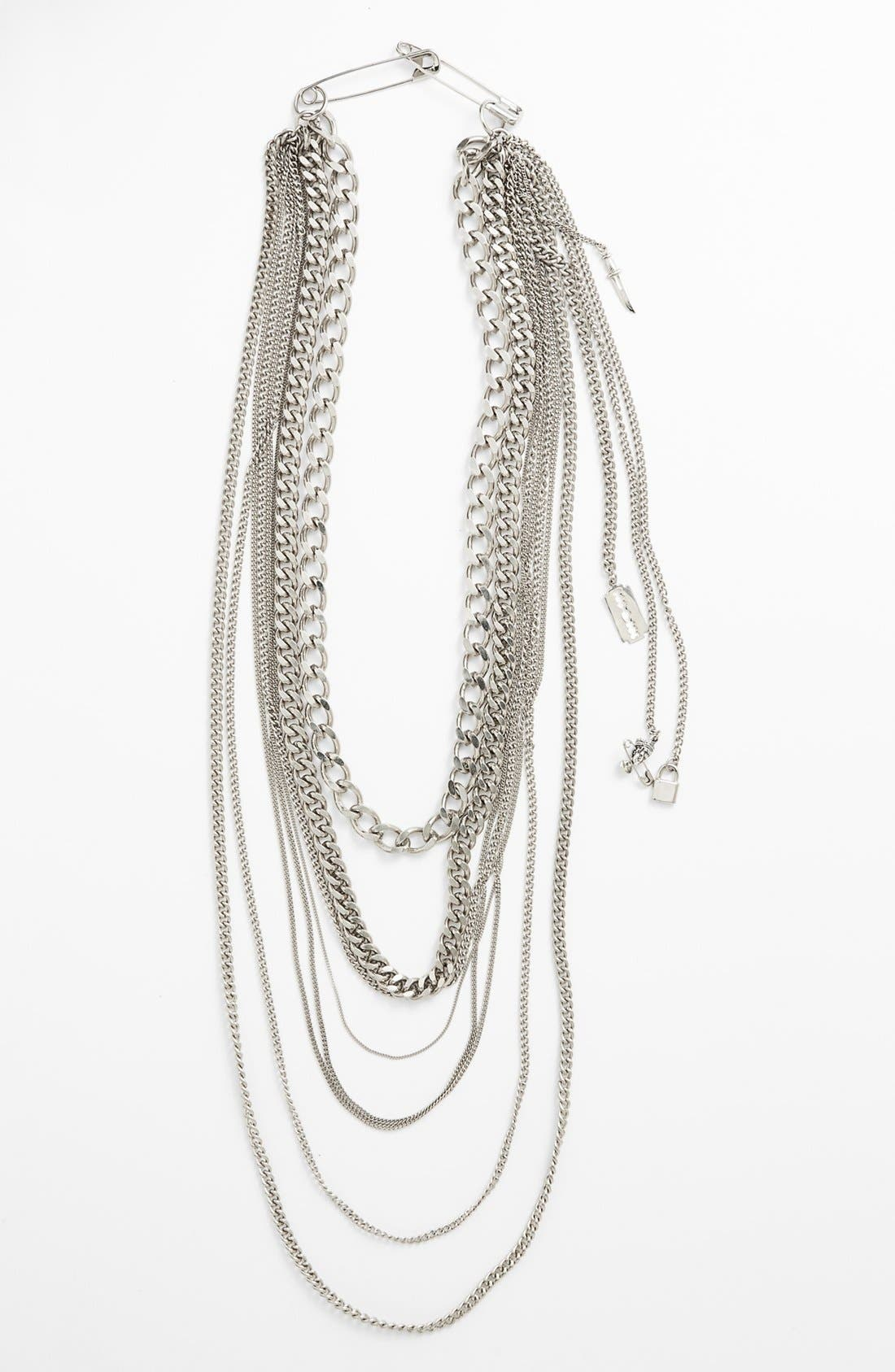 Alternate Image 2  - Tom Binns 'Charm Offensive' Multistrand Chain Necklace