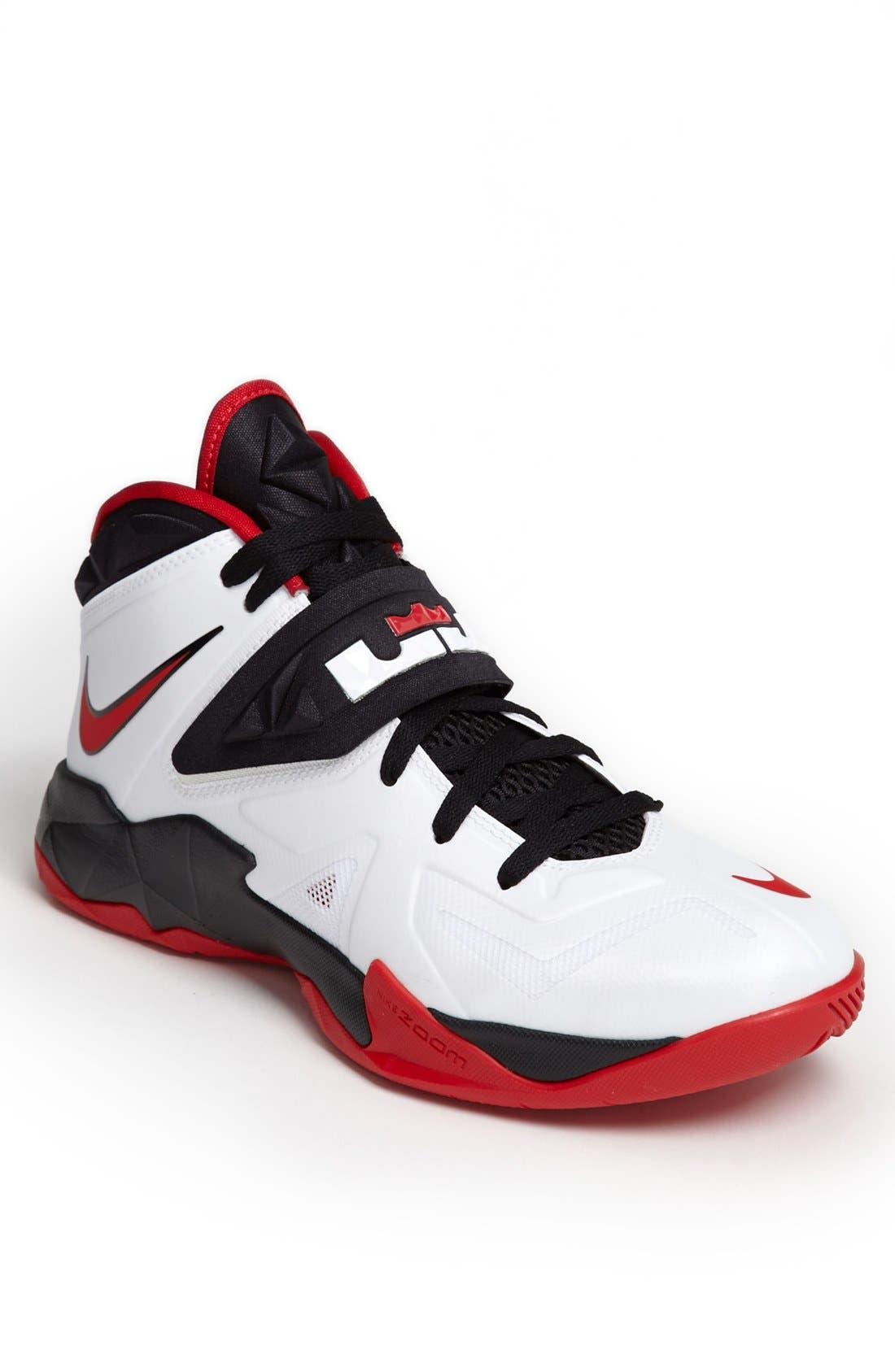 Alternate Image 1 Selected - Nike 'Lebron Zoom Soldier VII' Basketball Shoe (Men)