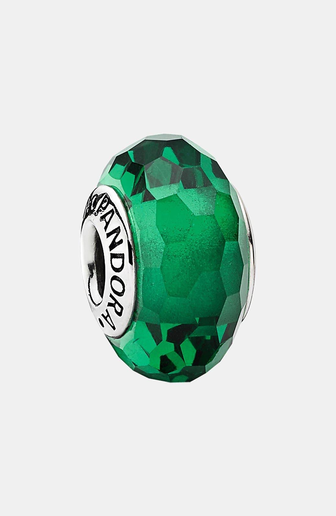 Alternate Image 1 Selected - PANDORA 'Fascinating Green' Charm