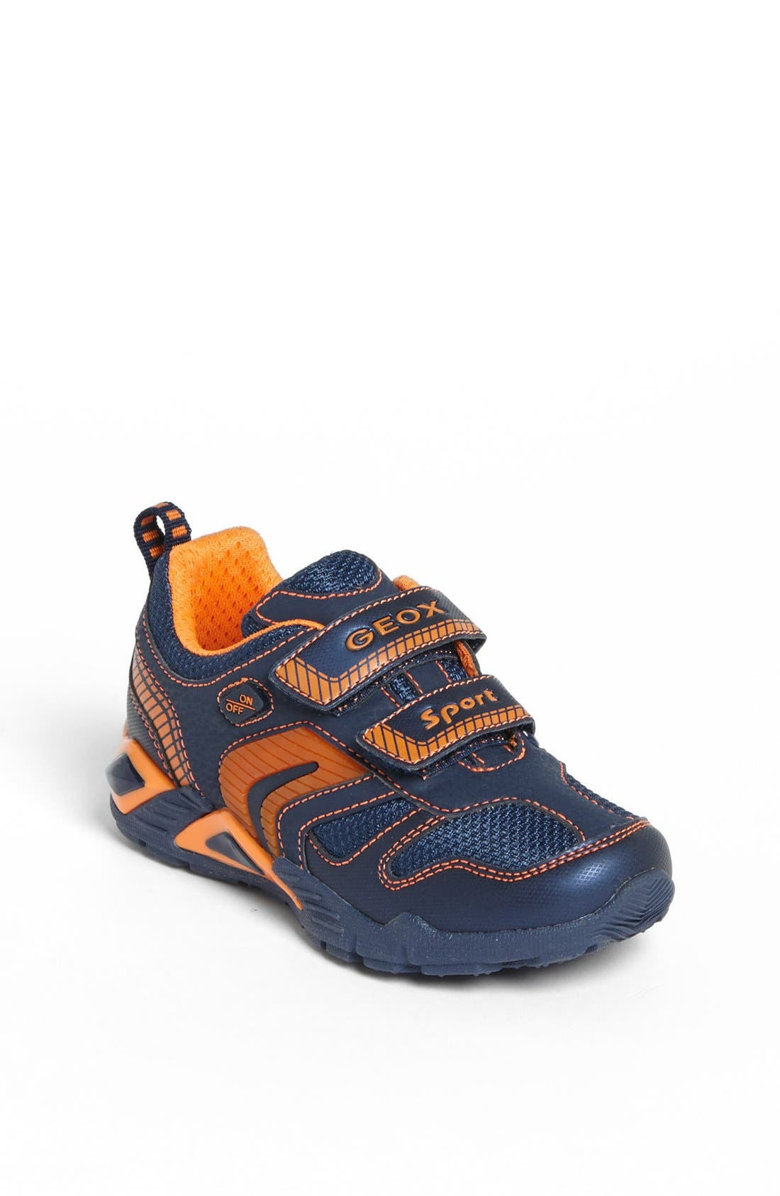 Alternate Image 1 Selected - Geox 'Supreme' Light-Up Sneaker (Toddler, Little Kid & Big Kid)