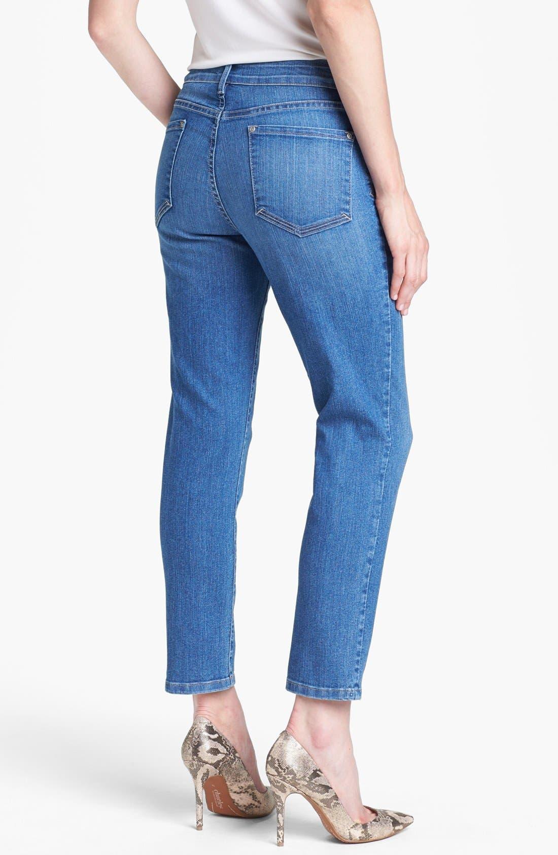 Alternate Image 2  - NYDJ 'Alisha' Stretch Skinny Ankle Jeans