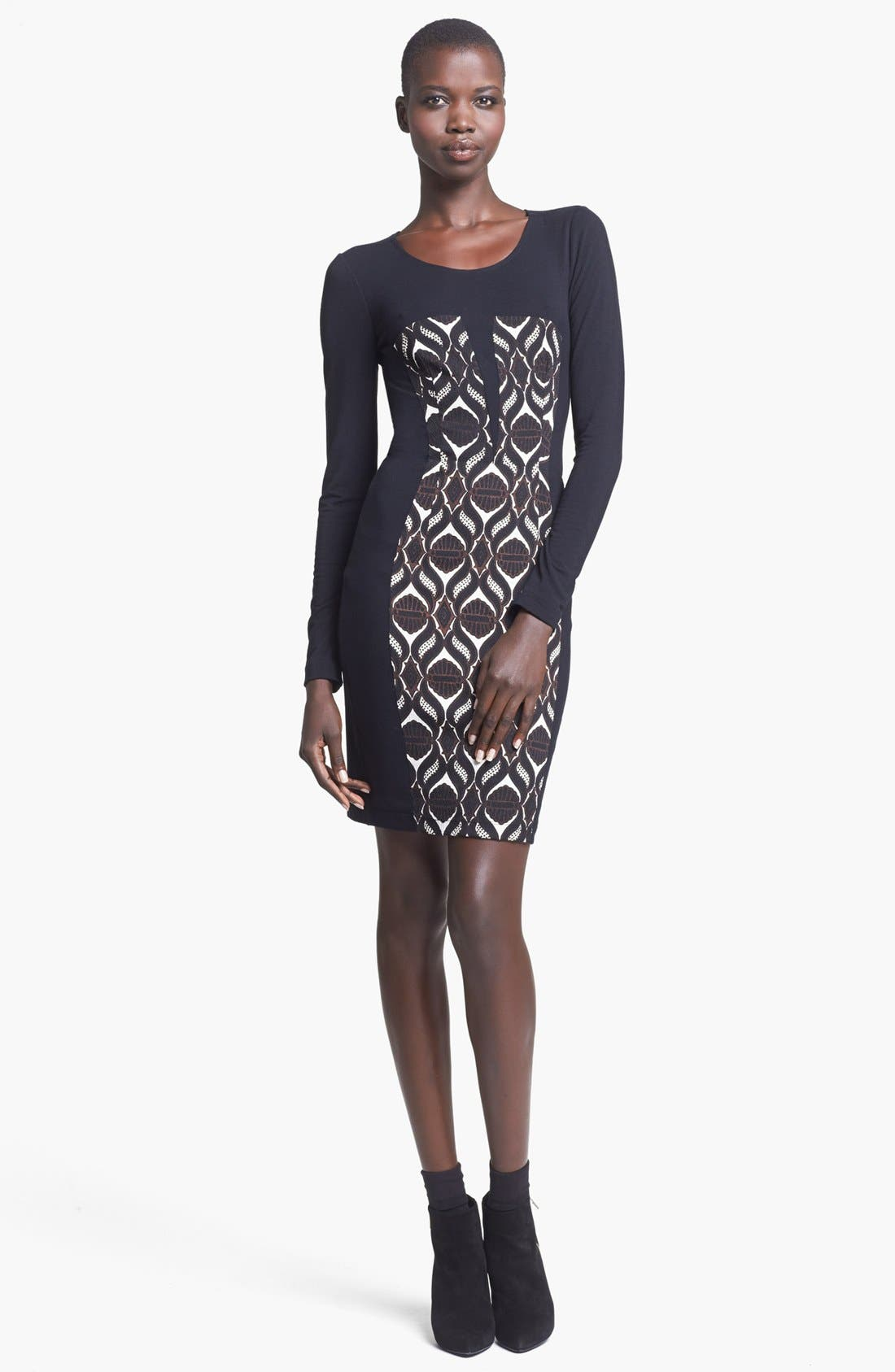 Alternate Image 1 Selected - Tracy Reese Jersey Sheath Dress