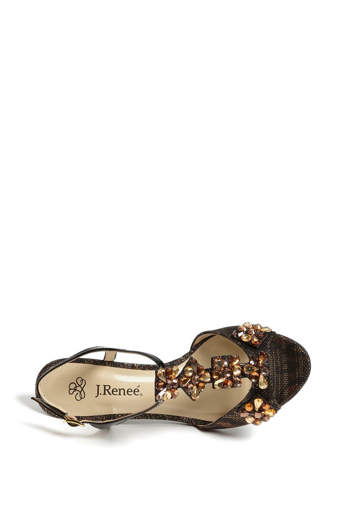 Alternate Image 3  - J. Renee 'Raspy' Sandal (Online Only)