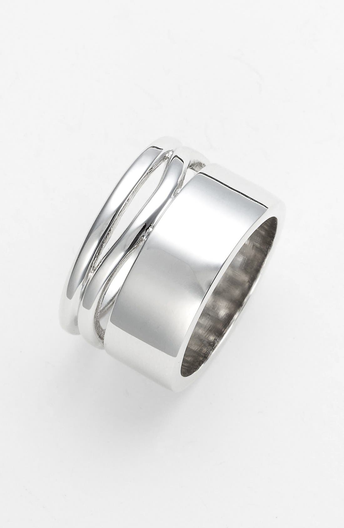 Alternate Image 1 Selected - Ariella Collection Stack Ring (Nordstrom Exclusive)