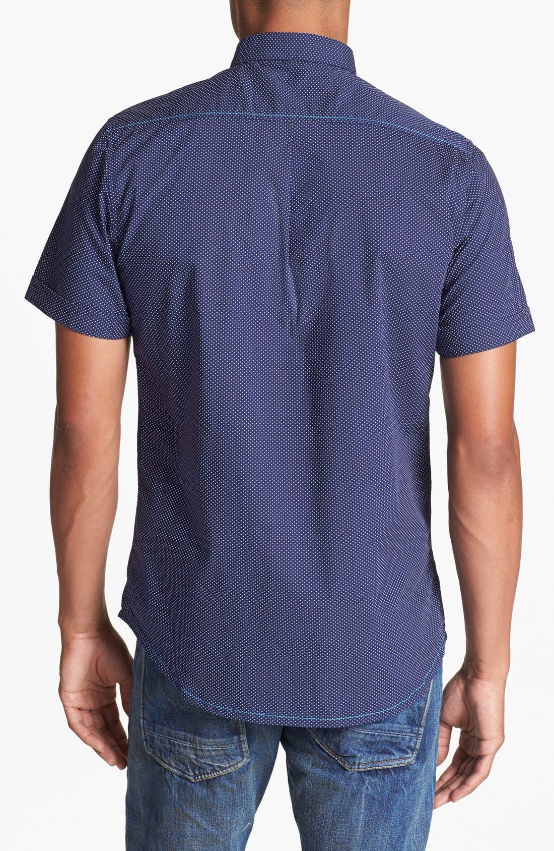 Alternate Image 3  - Descendant of Thieves Dot Woven Shirt