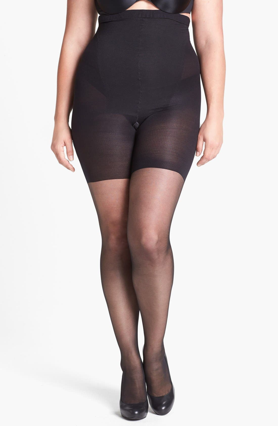 Alternate Image 3  - SPANX® 'Original' High Waisted Shaping Sheers (Regular & Plus Size)
