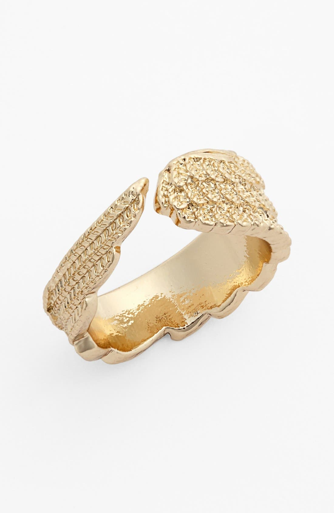 Main Image - Metal Haven by KENDALL + KYLIE 'Angel' Ring (Juniors) (Nordstrom Exclusive)