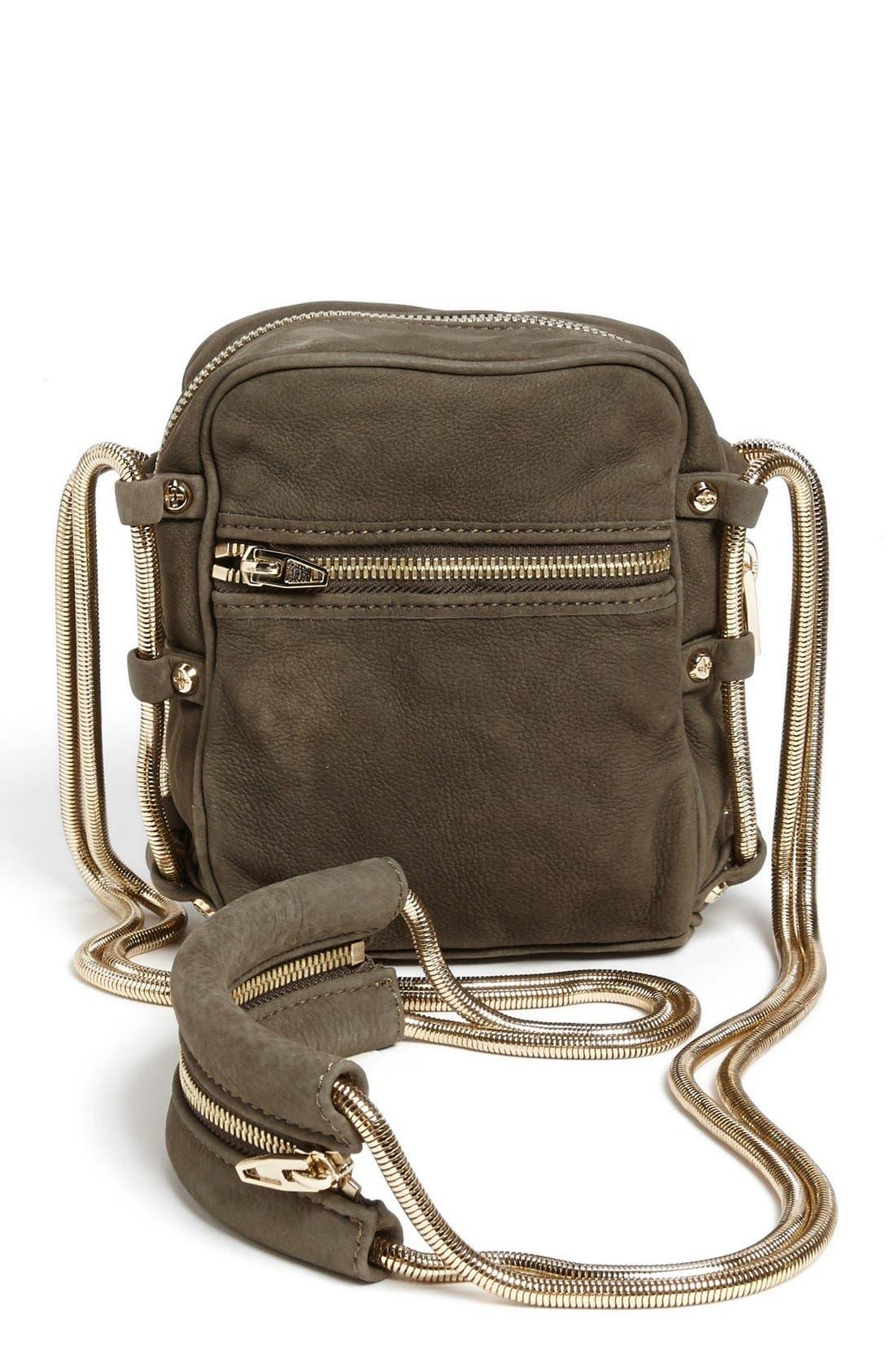 Alternate Image 4  - Alexander Wang 'Brenda - Pale Gold' Nubuck Leather Shoulder Bag, Small