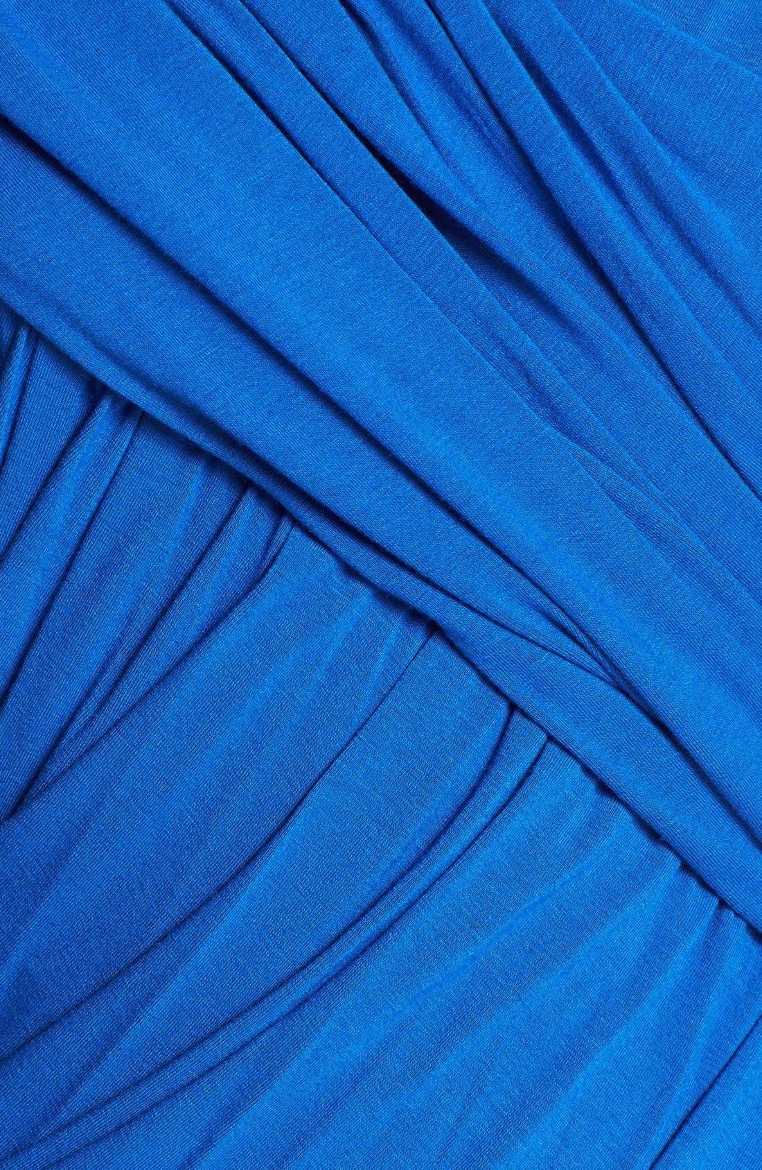 Alternate Image 3  - Donna Karan Collection Draped Mélange Jersey Dress