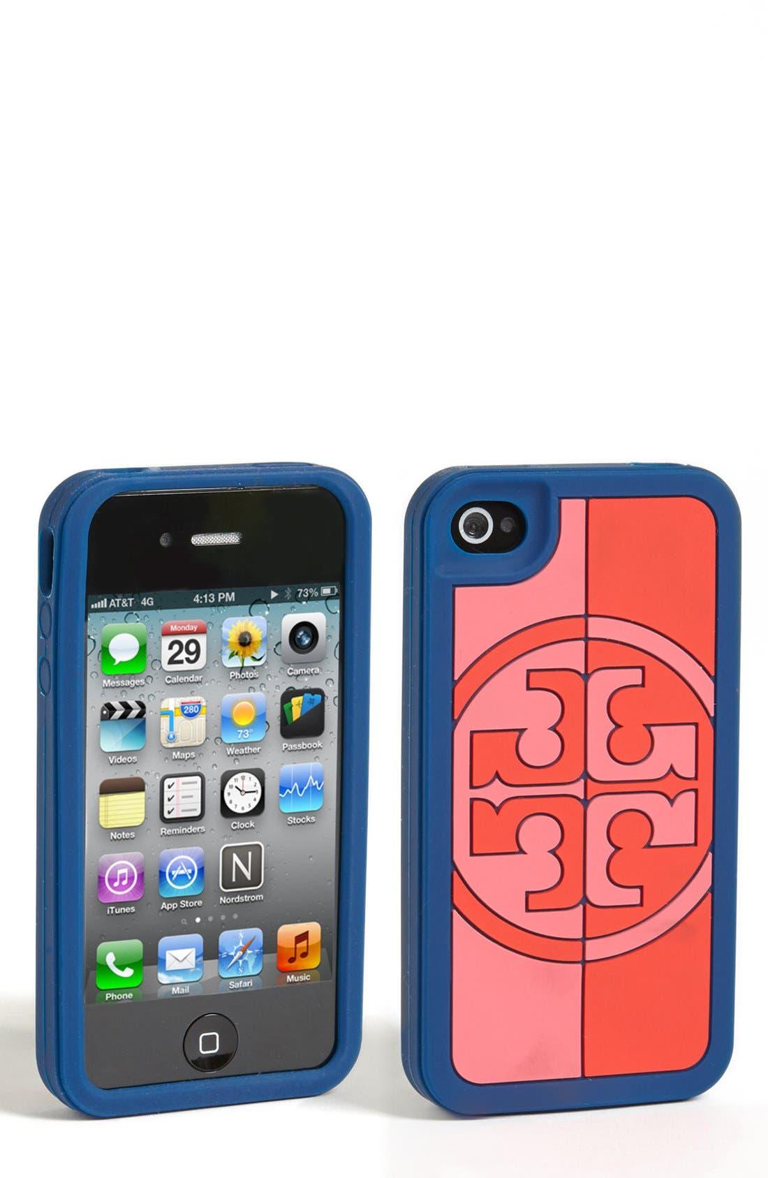 Alternate Image 1 Selected - Tory Burch 'Reva' iPhone 4 & 4S Case