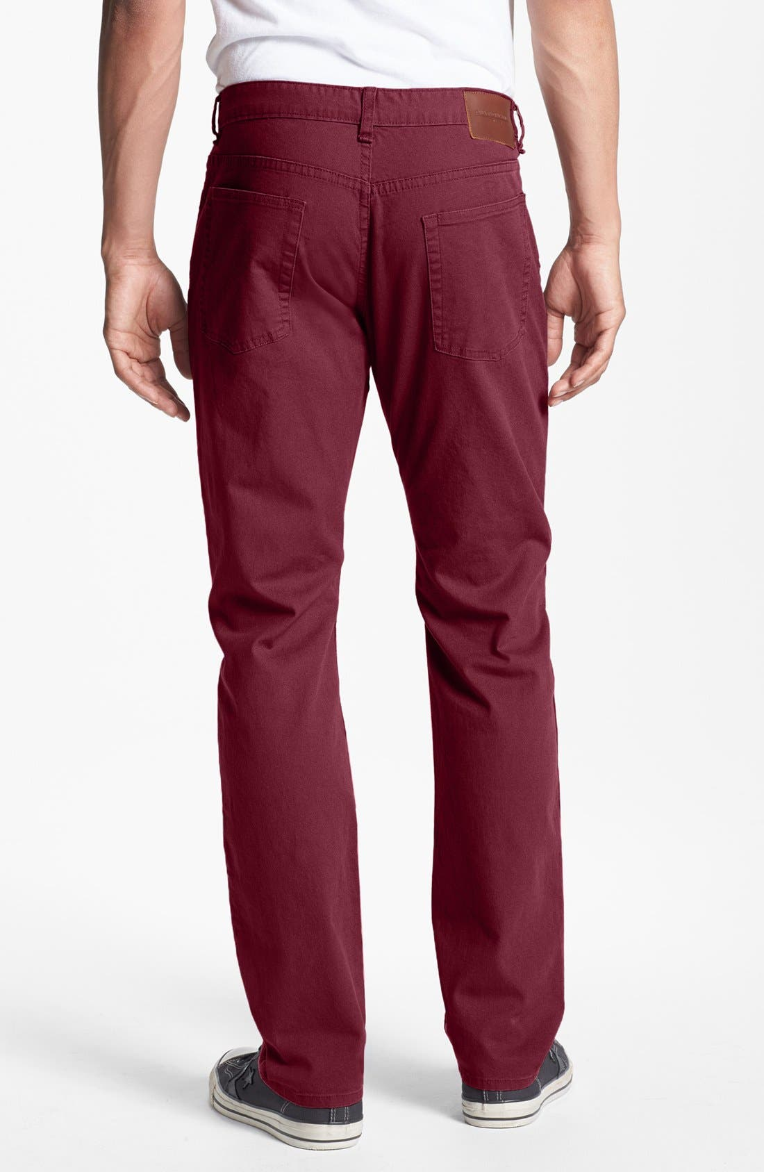Alternate Image 2  - Obey 'New Threat' Slim Fit Canvas Pants