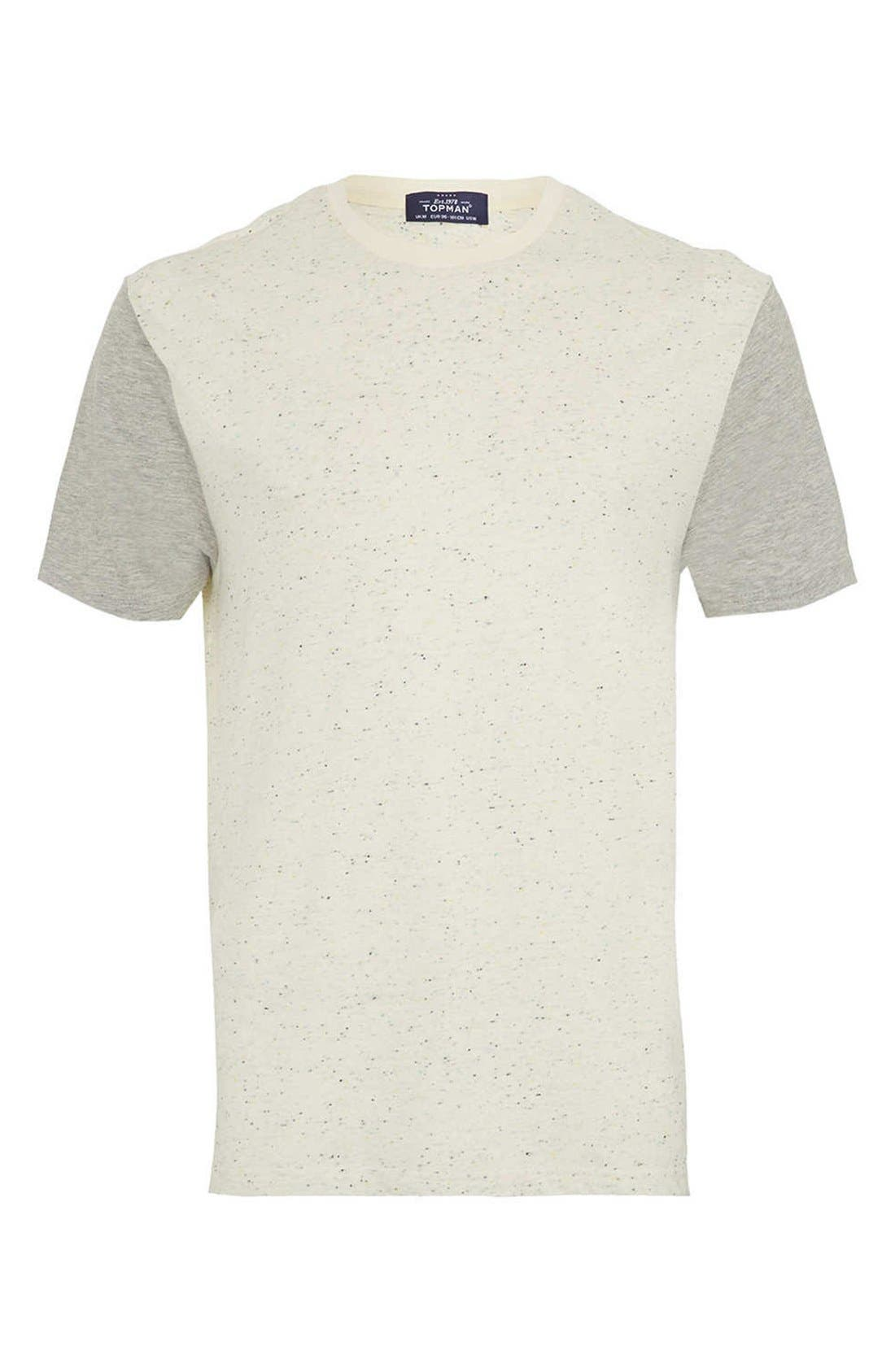 Alternate Image 1 Selected - Topman Nep Contrast T-Shirt