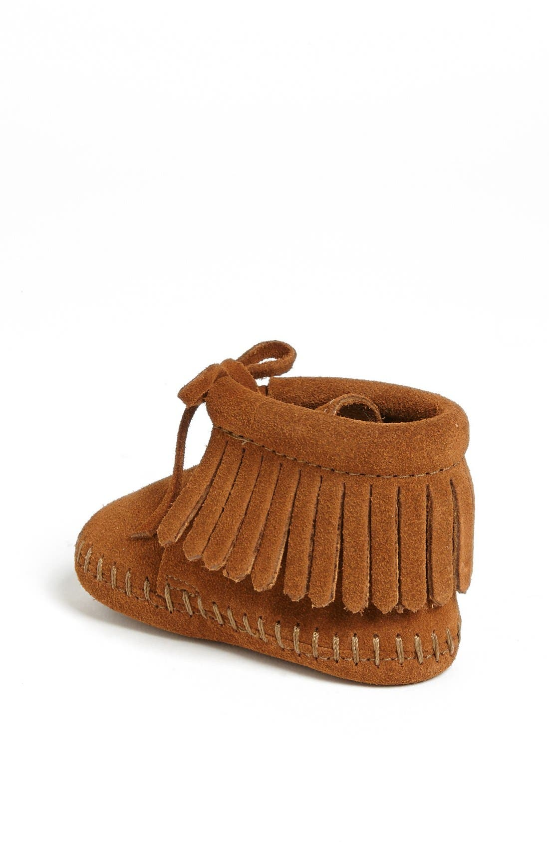 Alternate Image 2  - Minnetonka Fringe Bootie (Baby & Walker)