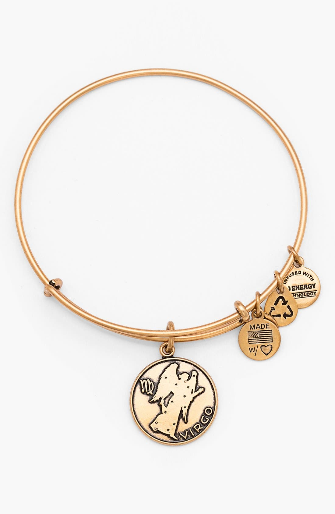 Alternate Image 1 Selected - Alex and Ani 'Virgo' Adjustable Wire Bangle