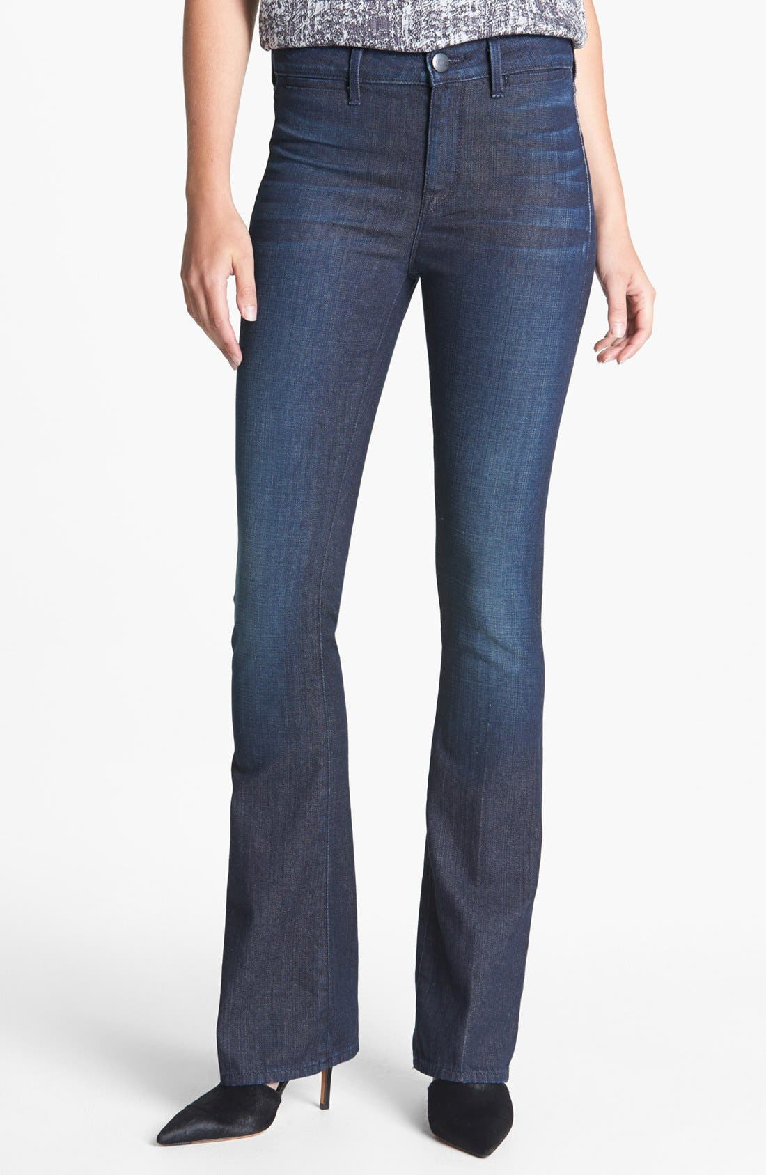 Alternate Image 1 Selected - Vince 'Taylor' High Rise Bootcut Stretch Jeans