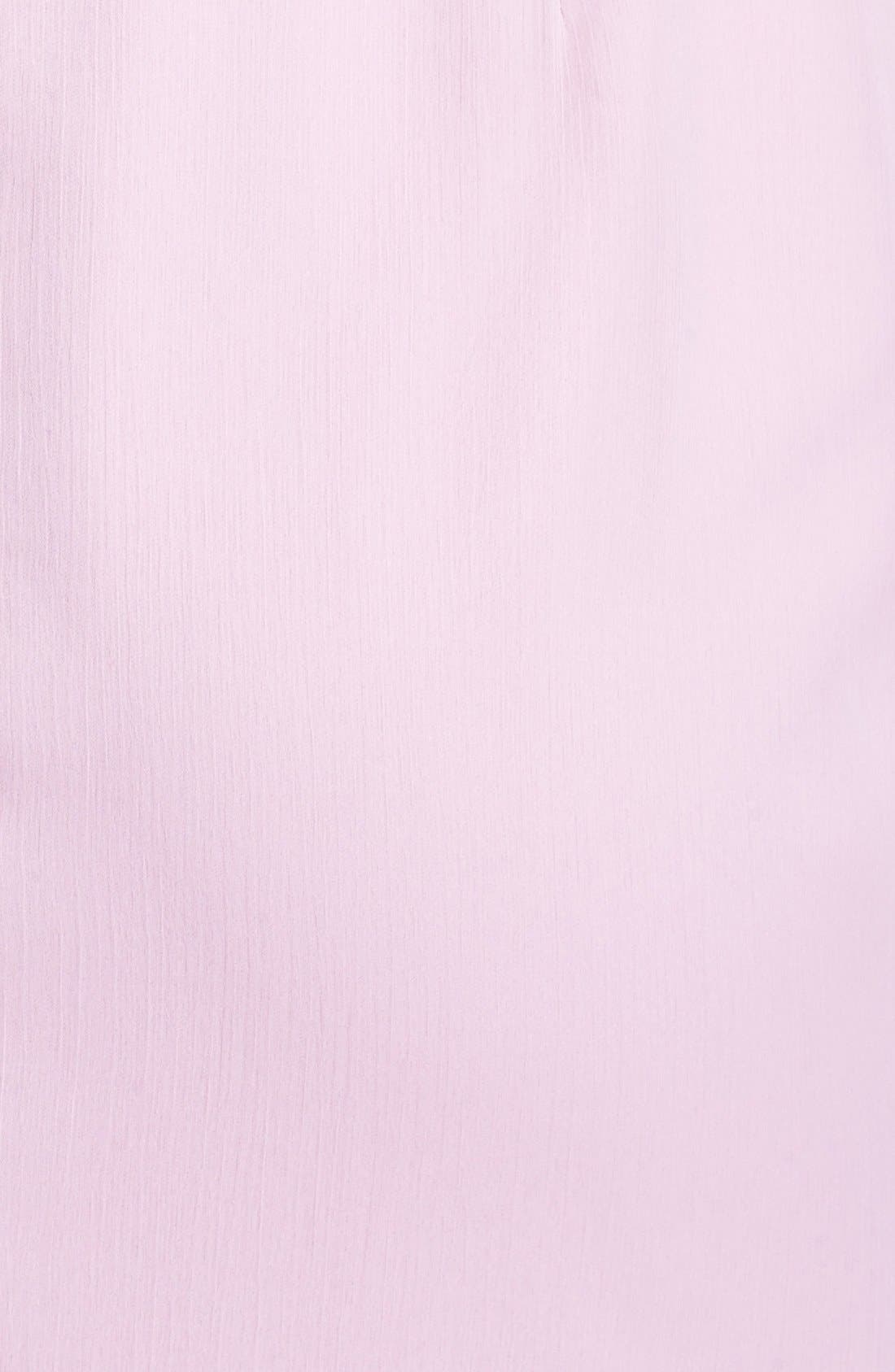 Alternate Image 4  - Lela Rose Bridesmaid Draped Chiffon Dress