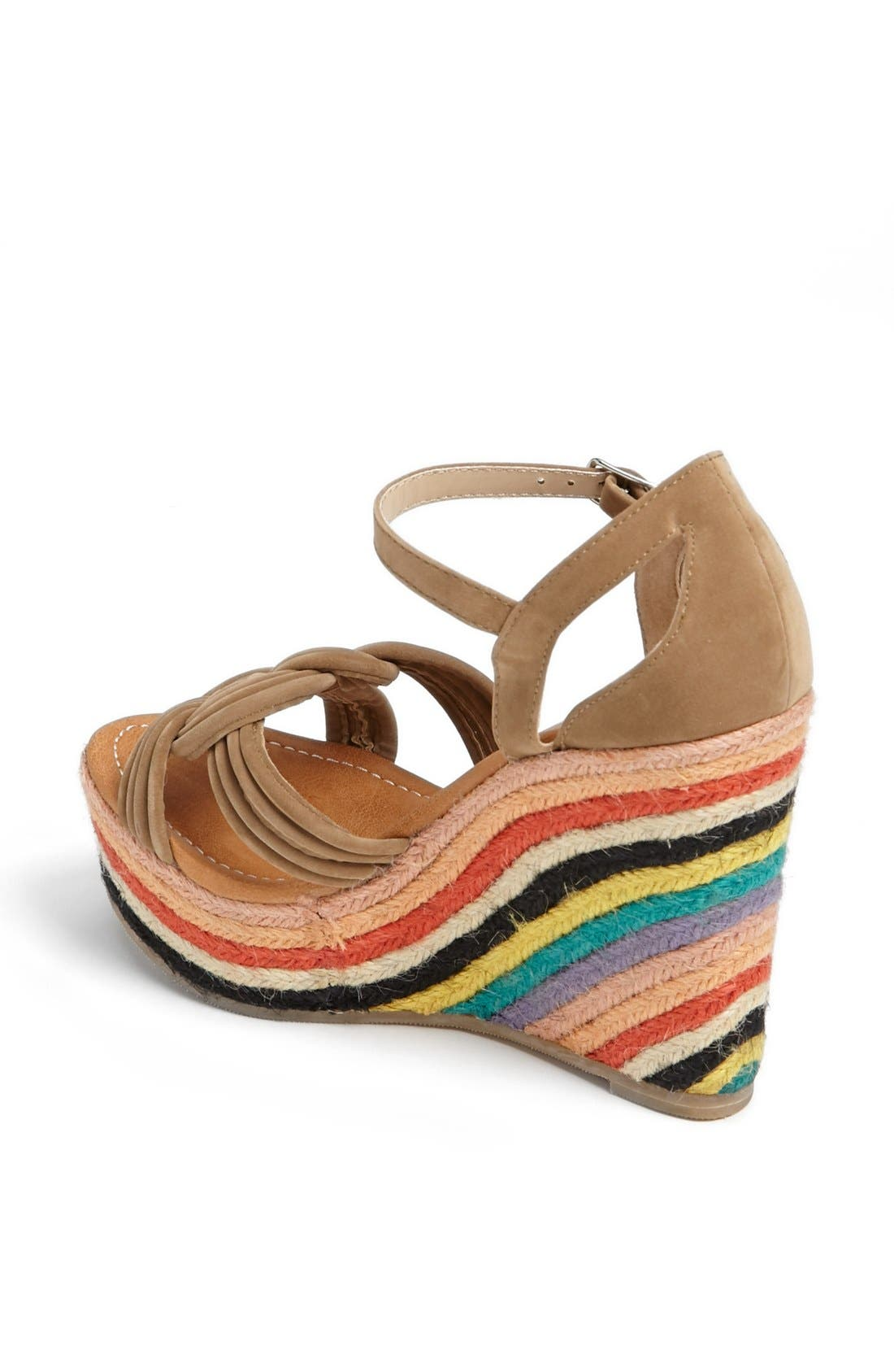 Alternate Image 2  - Skemo 'Bow' Wedge Sandal
