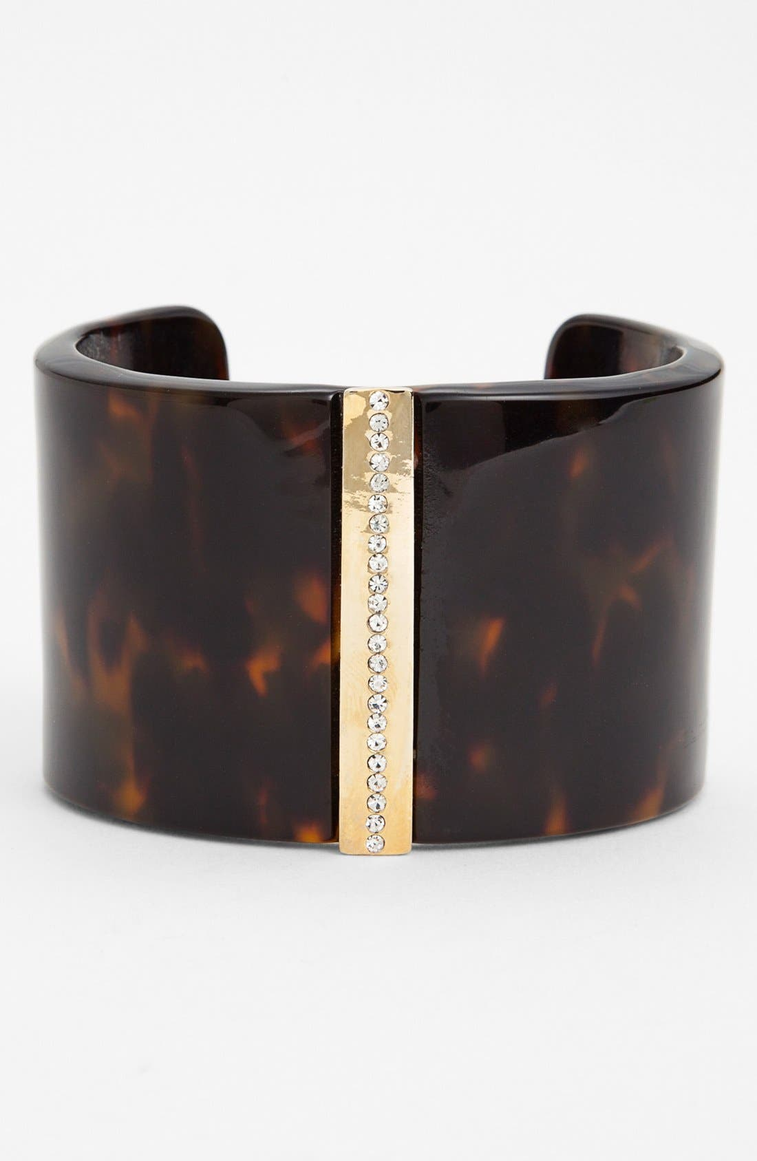 Alternate Image 1 Selected - Lauren Ralph Lauren Pavé Center Resin Cuff