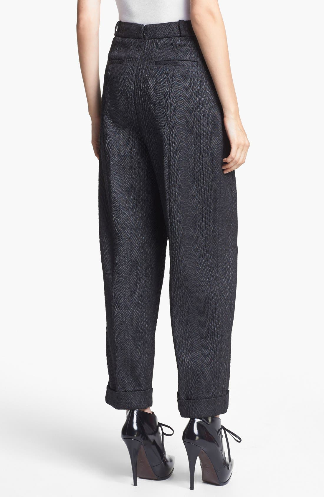 Alternate Image 2  - J Brand Ready-to-Wear 'Asawa' Snakeskin Brocade Trousers