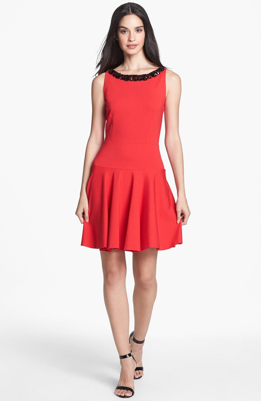 Alternate Image 1 Selected - ERIN erin fetherston 'Eleanor' Embellished Fit & Flare Dress