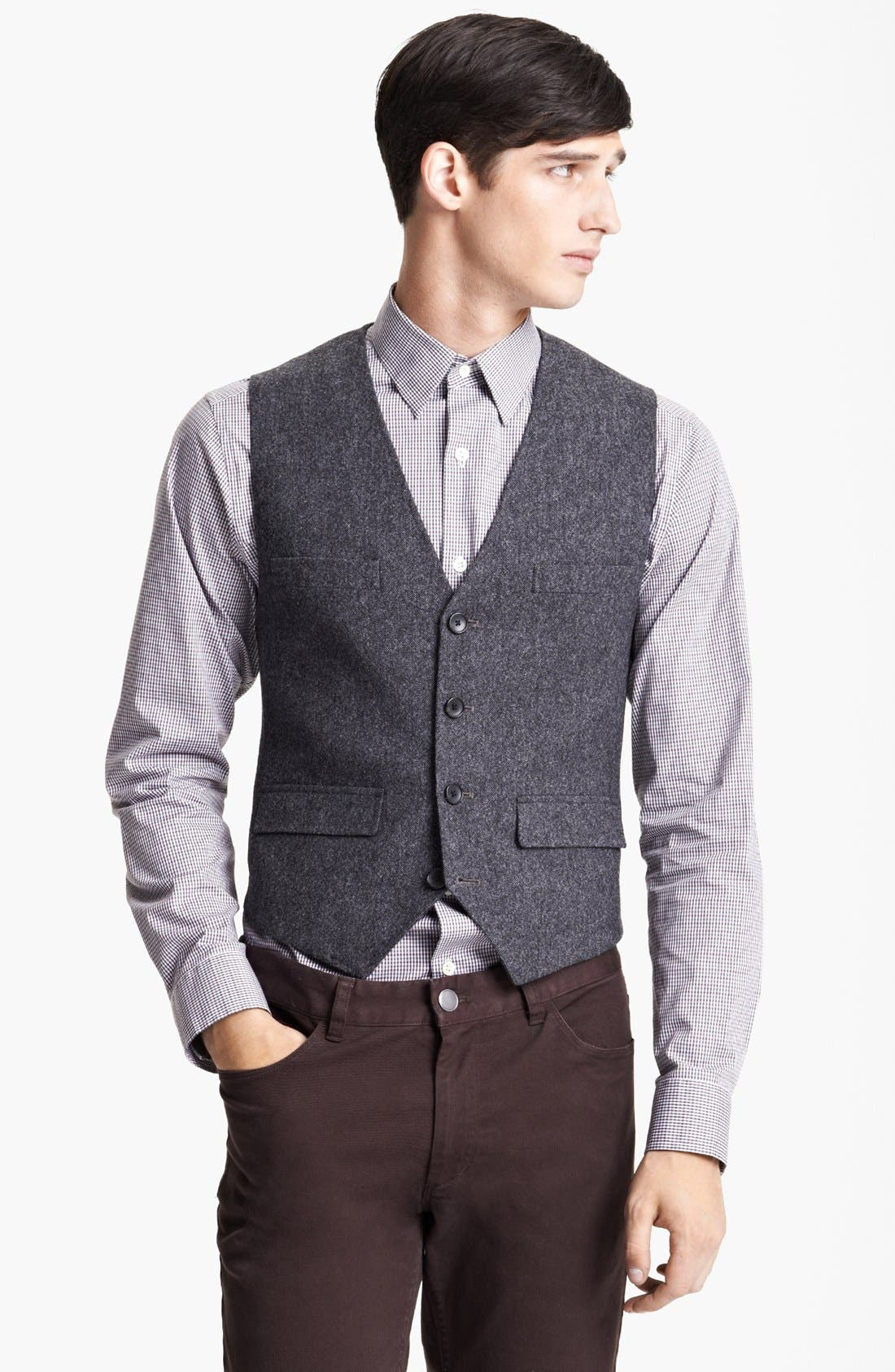 Main Image - Theory 'Chestir Foxholm' Wool Vest