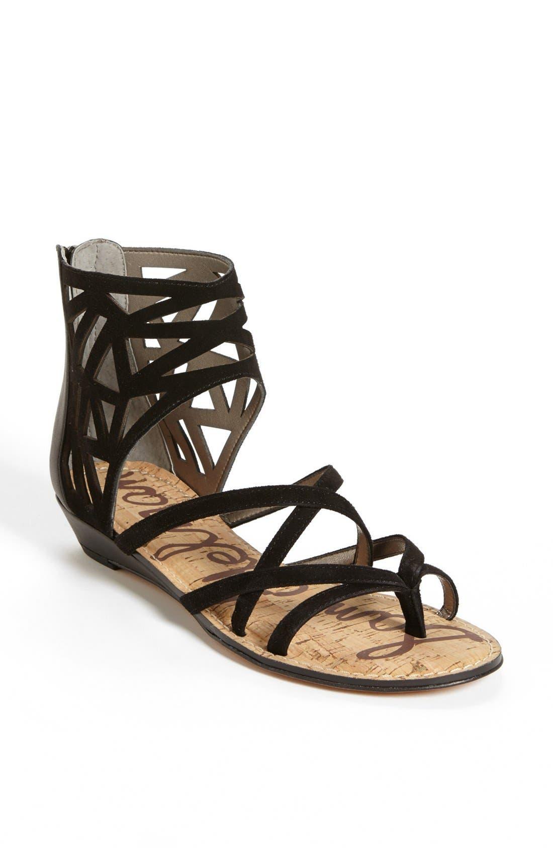 Alternate Image 1 Selected - Sam Edelman 'Dana' Leather Sandal