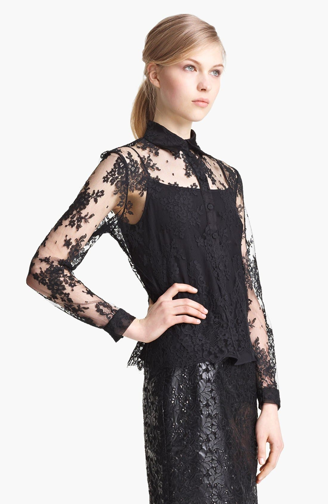 Alternate Image 1 Selected - Erdem 'Cecilia' Lace Blouse