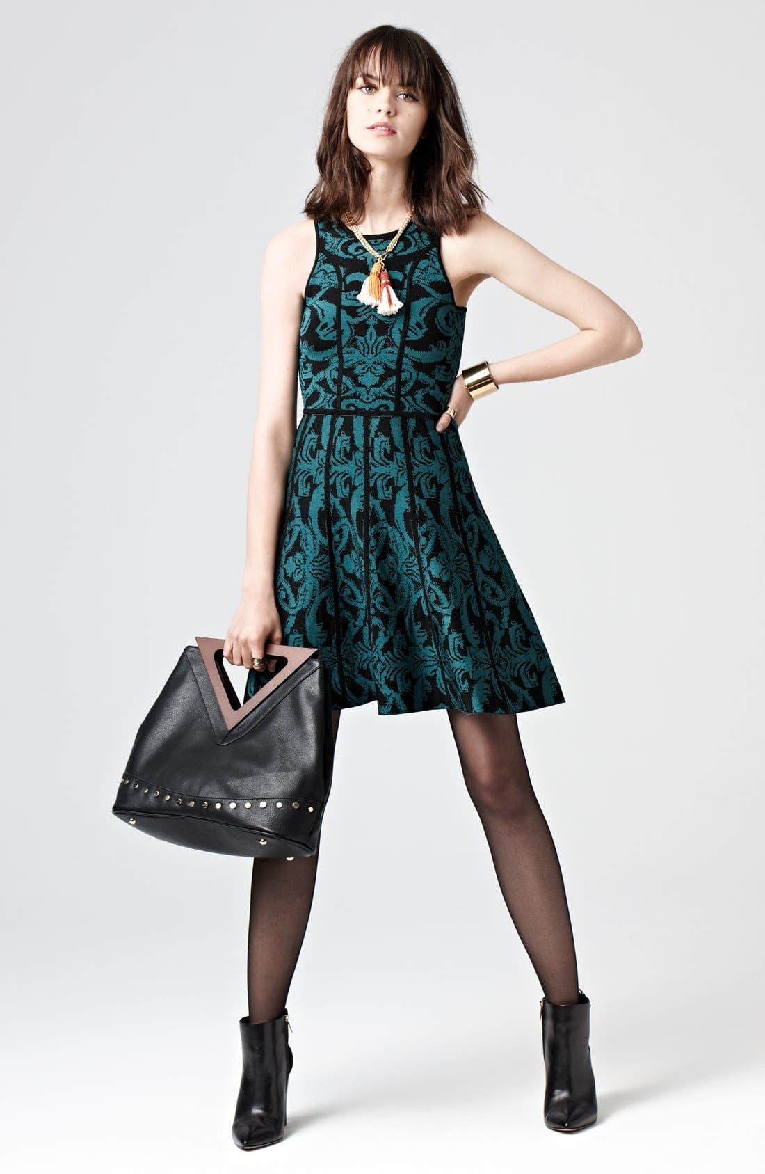 Alternate Image 4  - Parker 'Kiley' Knit A-Line Dress