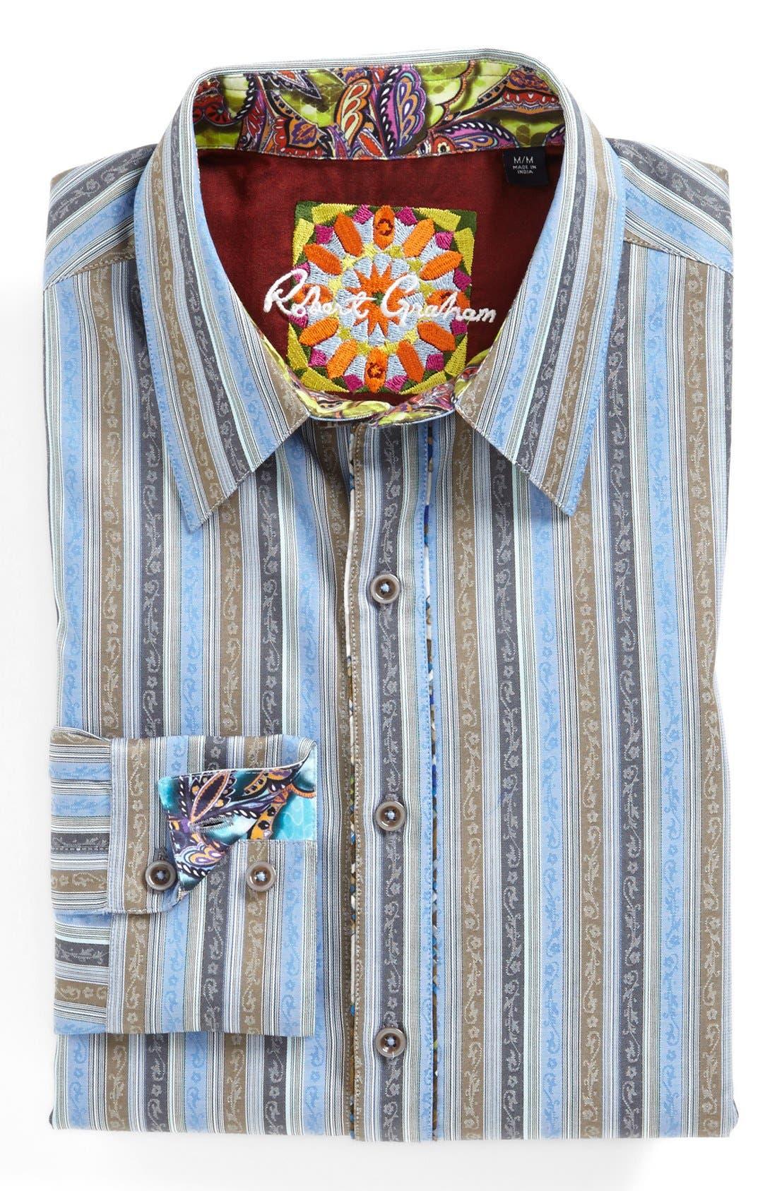 Alternate Image 2  - Robert Graham 'Davis' Regular Fit Sport Shirt