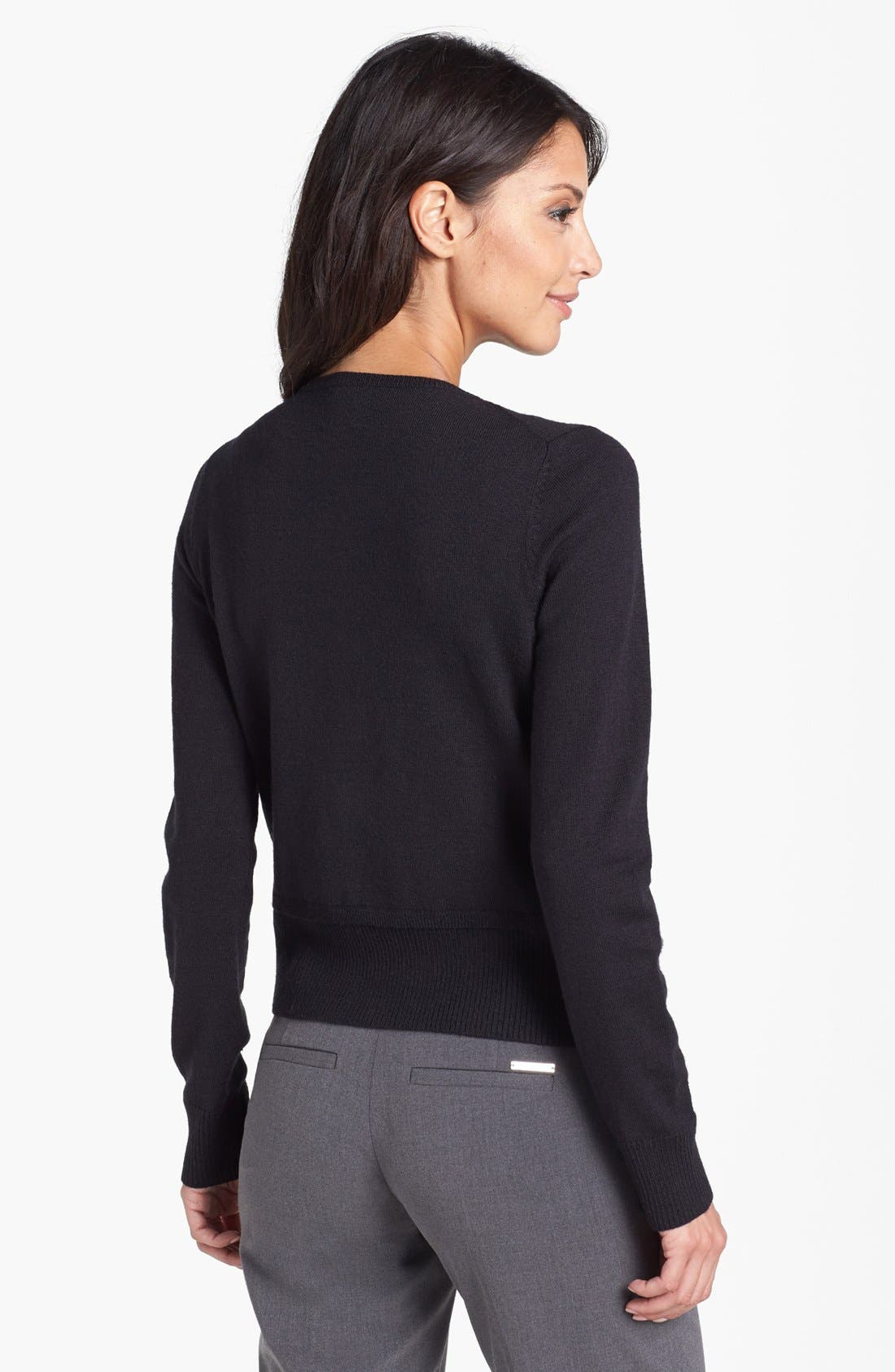 Alternate Image 2  - Anne Klein 'Combo' Cardigan (Petite)