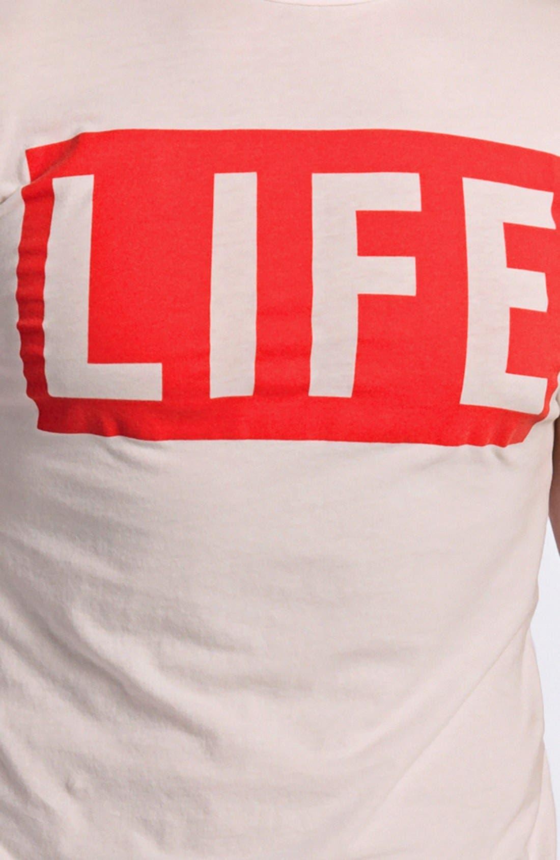 Alternate Image 3  - Altru 'LIFE®' Graphic Crewneck T-Shirt