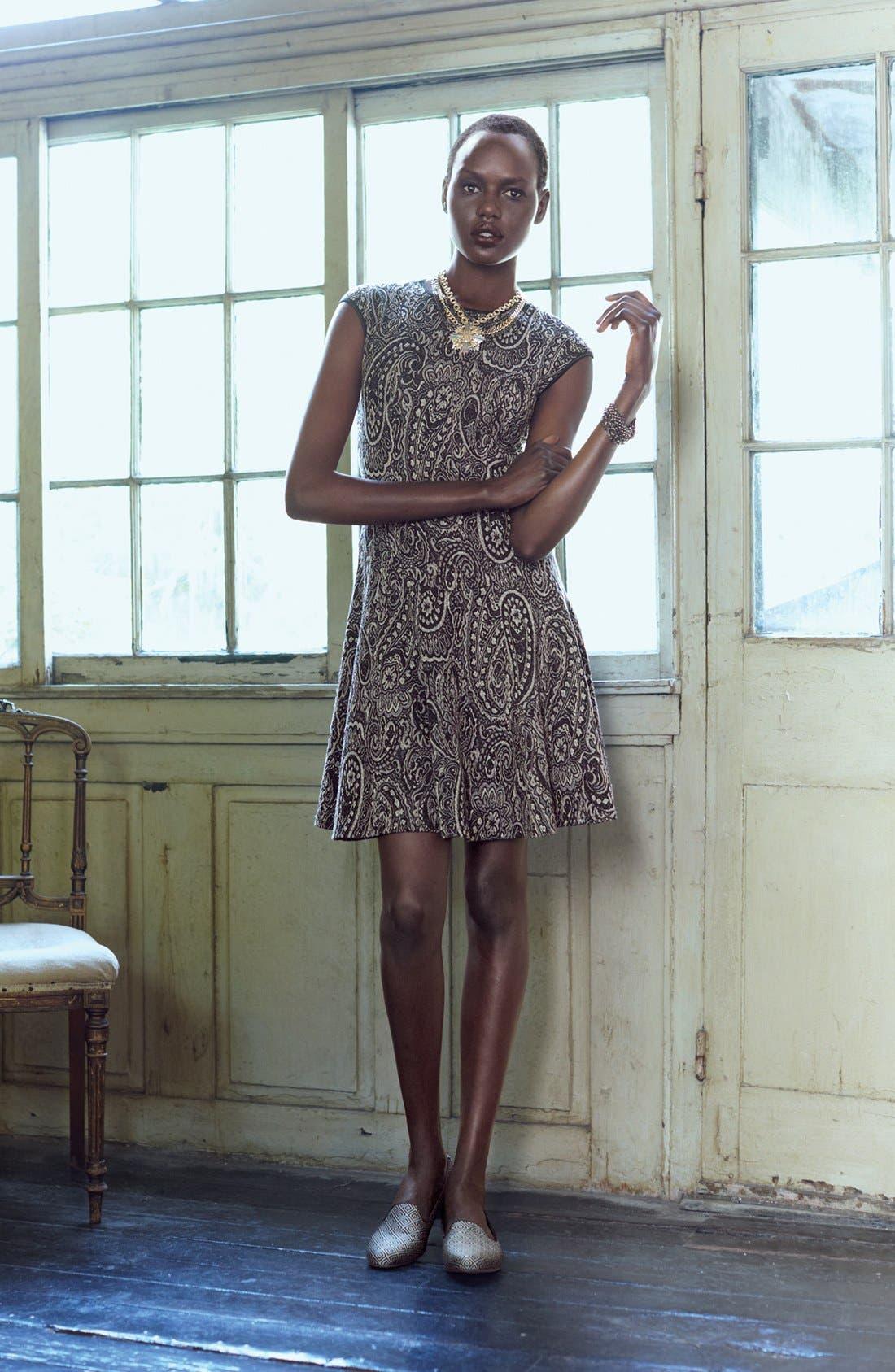 Alternate Image 1 Selected - Gabby Skye Sweater Dress & Accessories