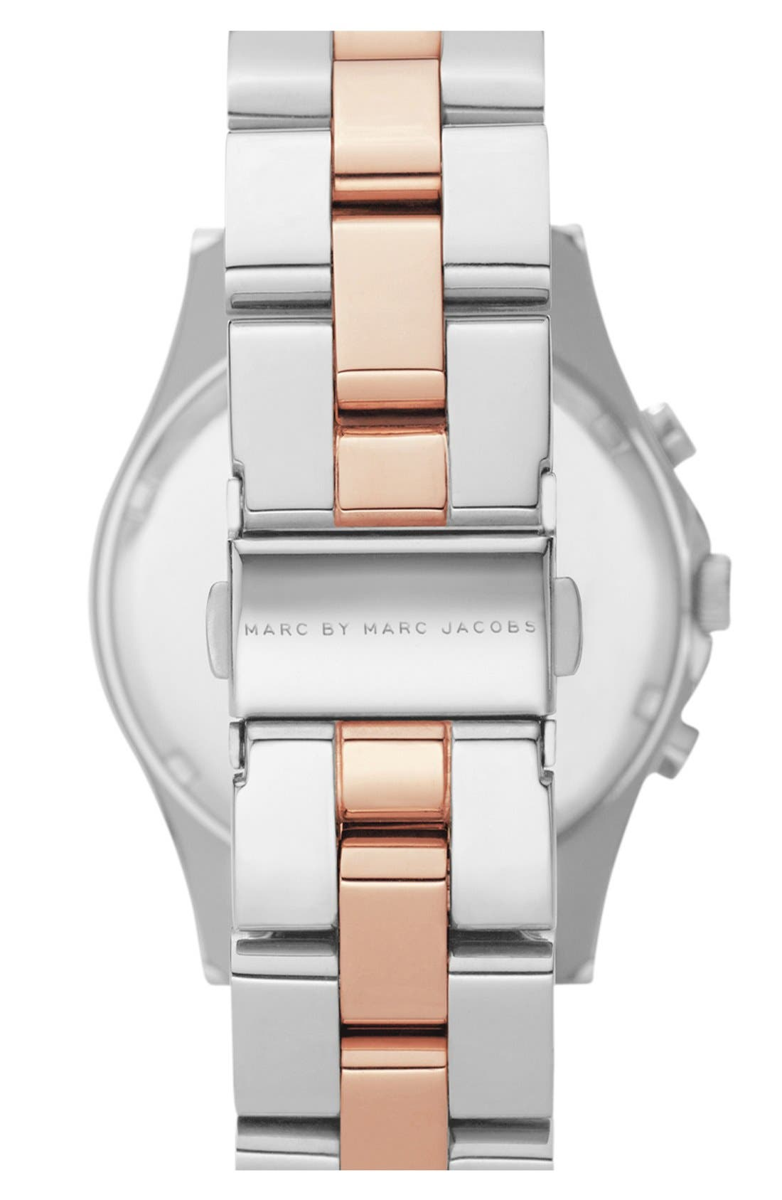 Alternate Image 2  - MARC JACOBS 'Henry' Two-Tone Chronograph Watch
