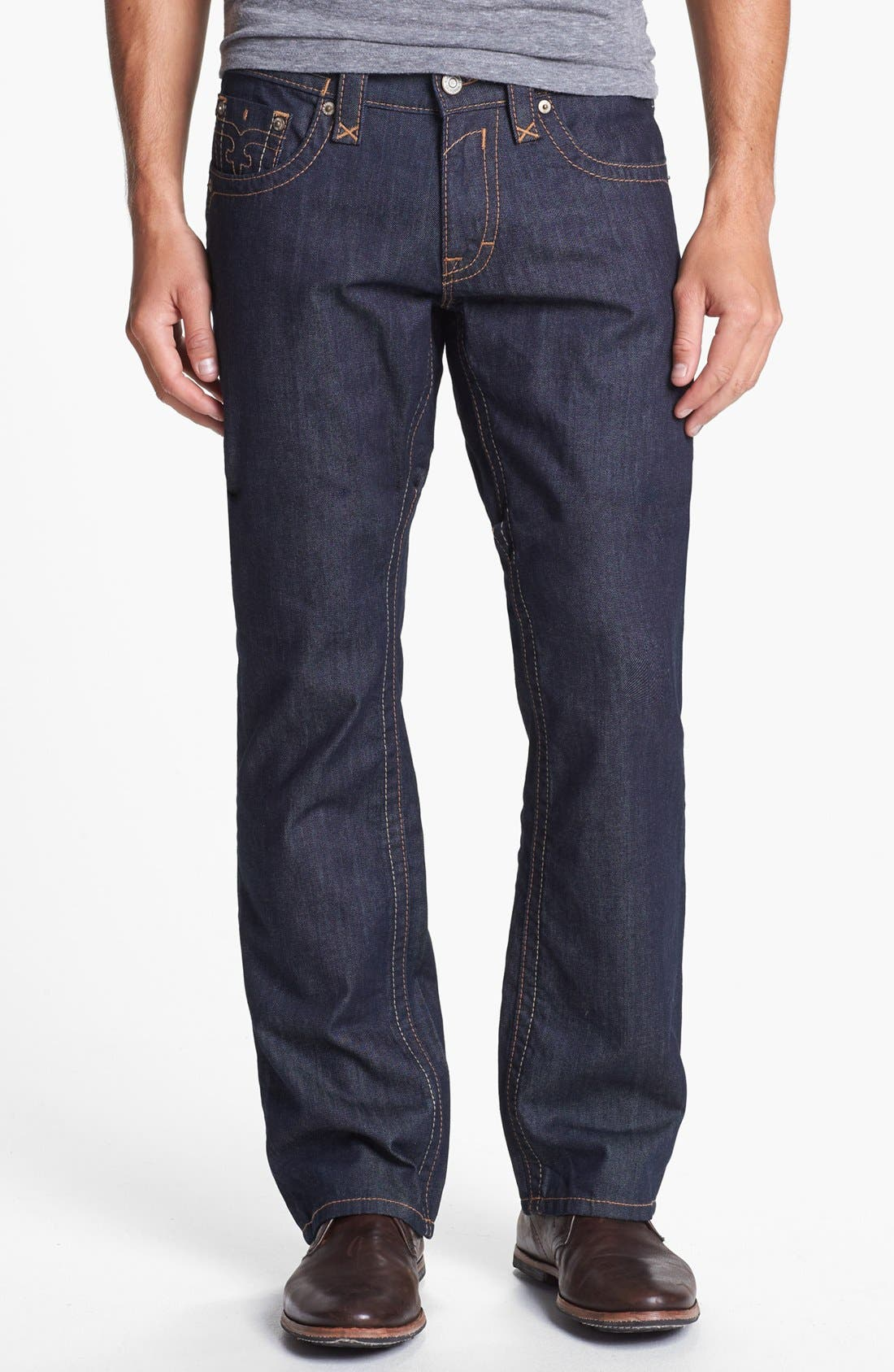 Alternate Image 2  - Rock Revival 'Blane' Straight Leg Jeans