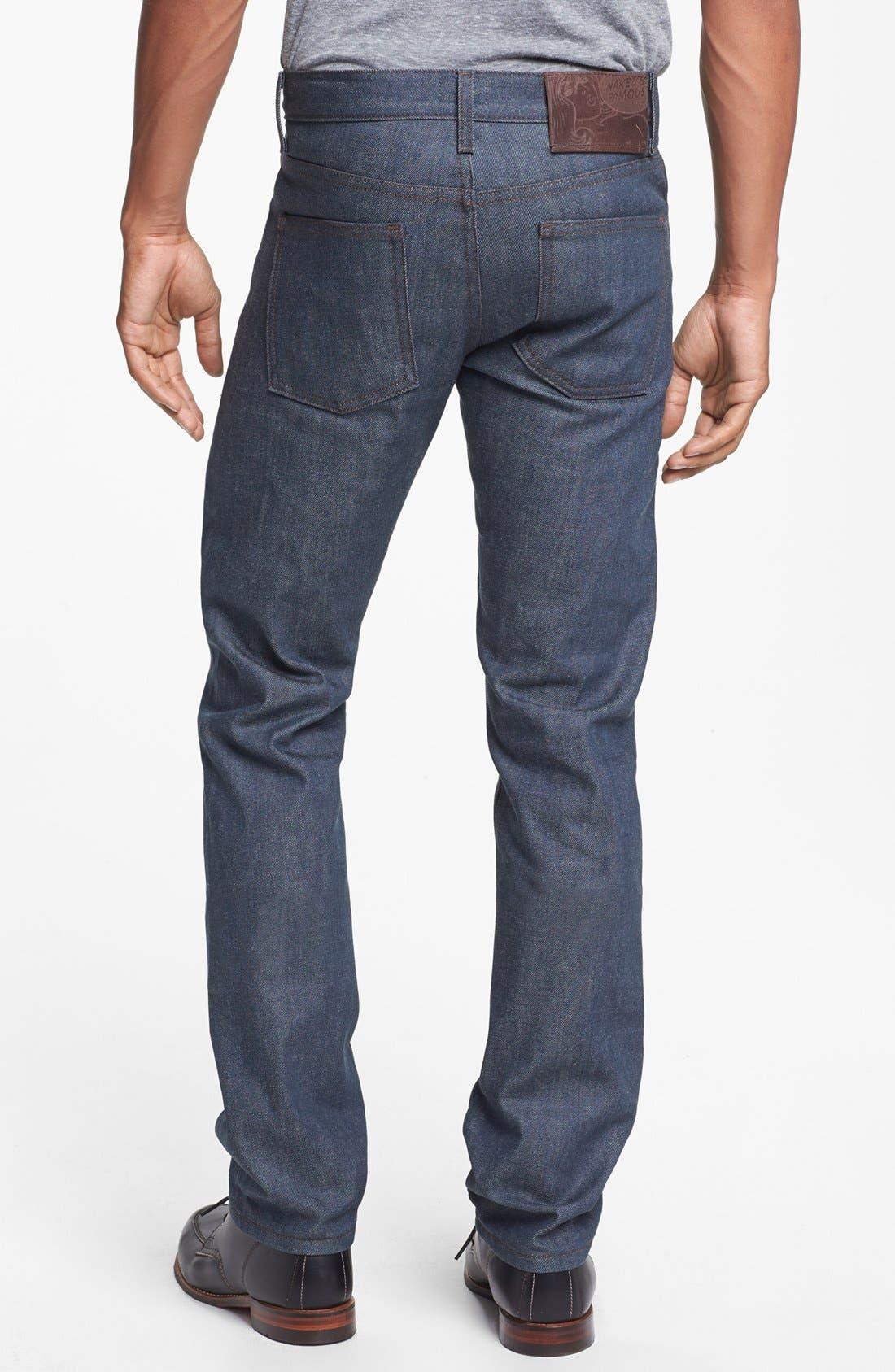Alternate Image 1 Selected - Naked & Famous Denim 'Skinny Guy' Skinny Fit Selvedge Jeans