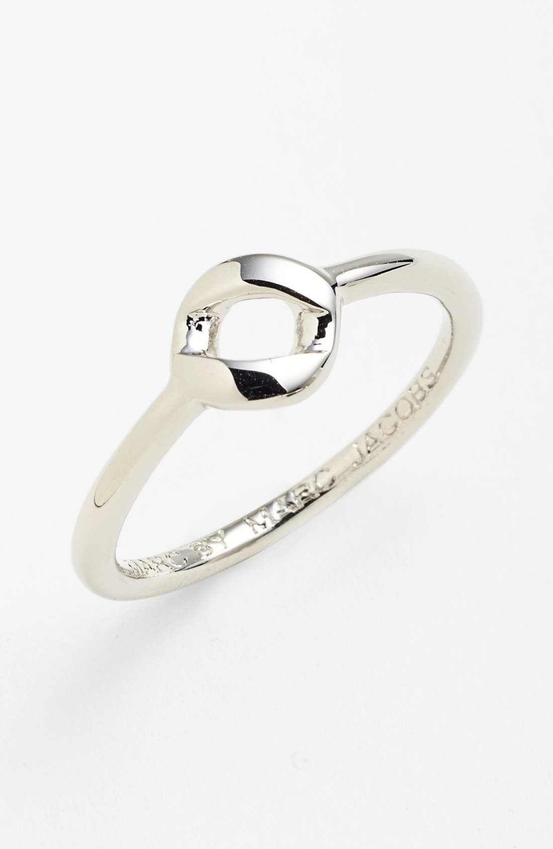 Alternate Image 1 Selected - MARC BY MARC JACOBS 'Katie' Small Open Ring