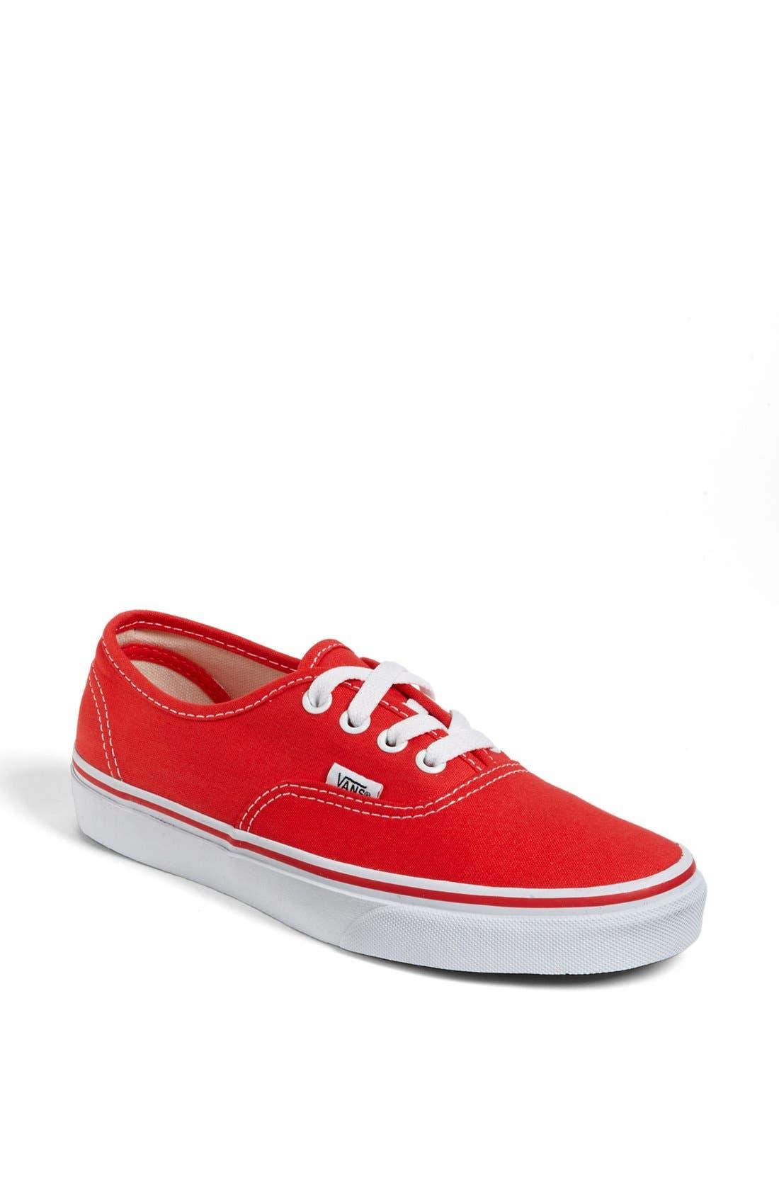 Main Image - Vans 'Authentic' Sneaker (Women)