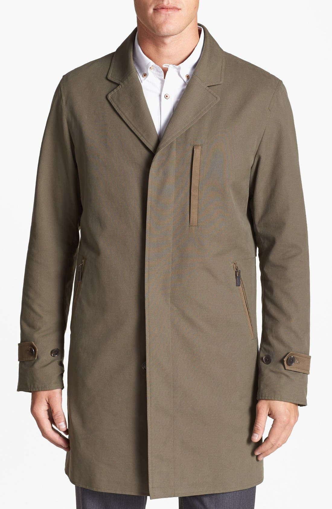 Alternate Image 1 Selected - Vince Camuto Trench Coat