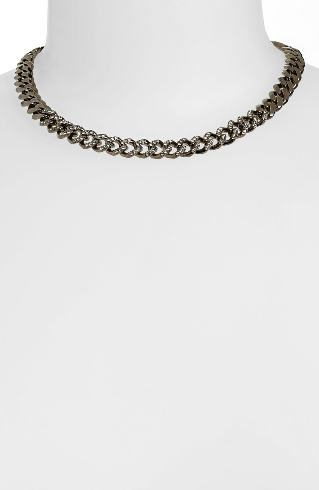 Alternate Image 1 Selected - Givenchy Pavé Link Collar Necklace