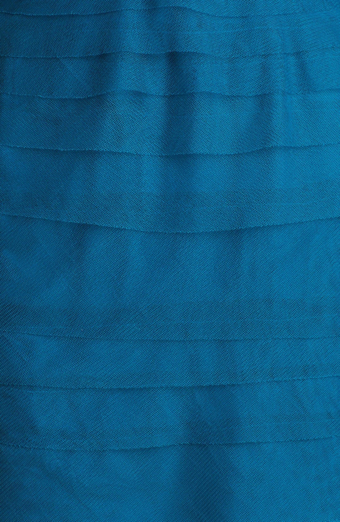 Alternate Image 4  - Adrianna Papell Embellished Tiered Mesh Sheath Dress