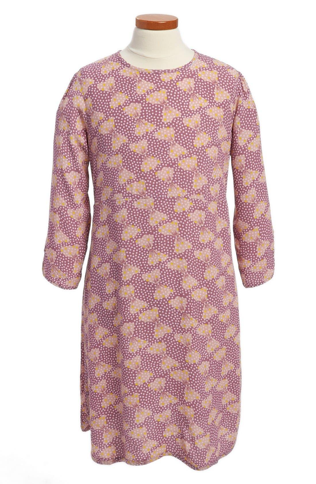 Main Image - Stella McCartney Kids 'Ida' Bow Print Dress (Toddler, Little Girls & Big Girls)