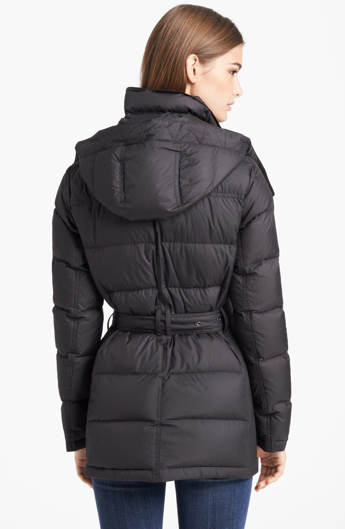 Alternate Image 2  - Burberry Brit 'Mareton' Quilted Down Jacket