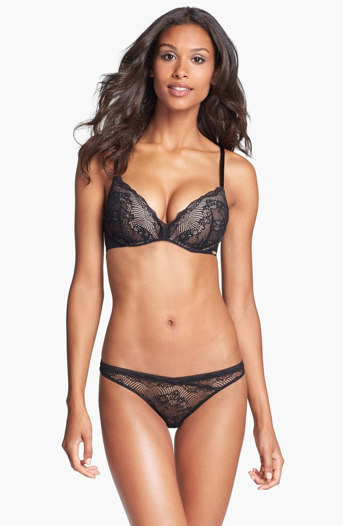 Alternate Image 3  - Calvin Klein 'Serene' Lace Thong
