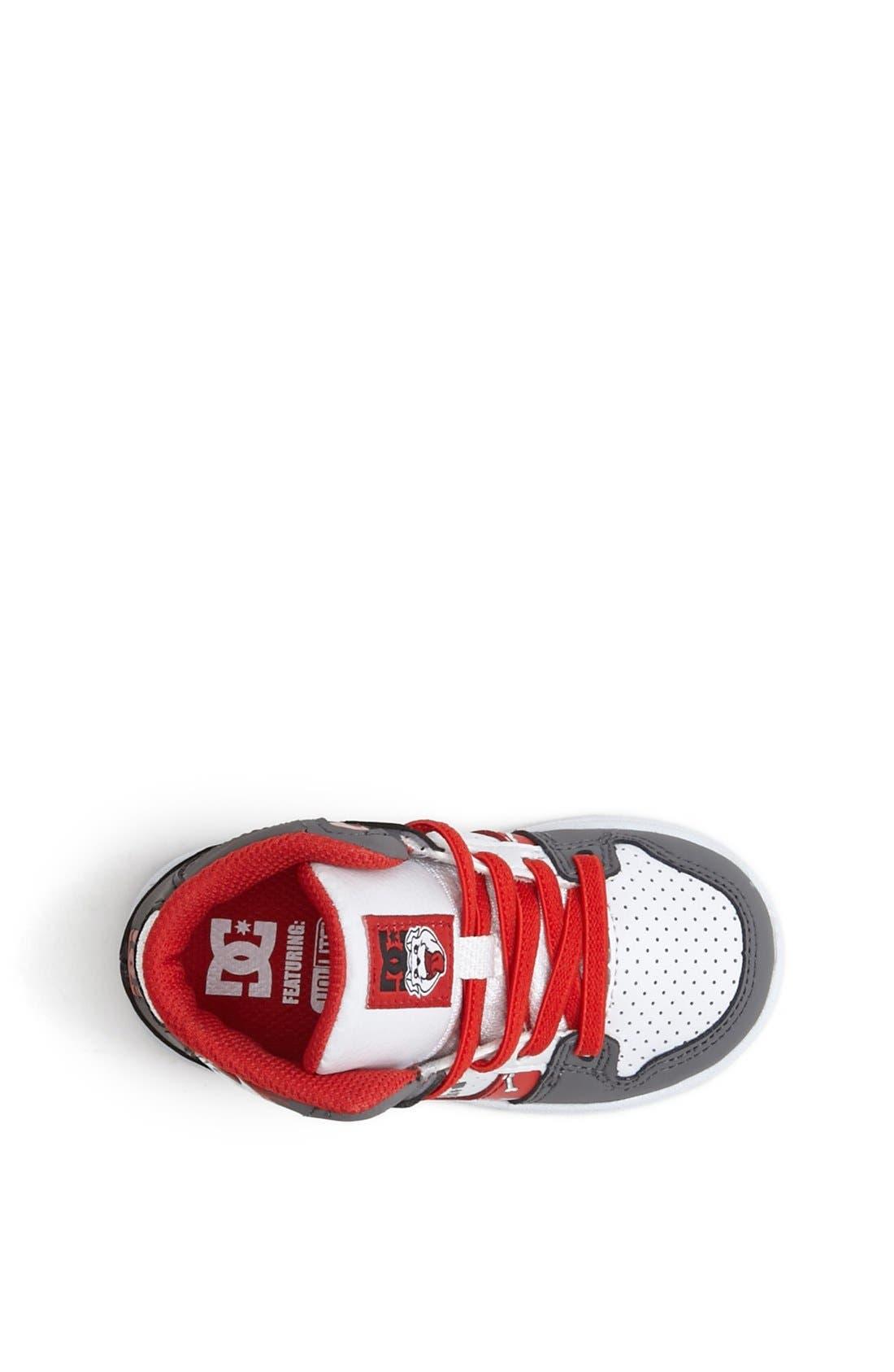 Alternate Image 3  - DC Shoes 'Wild Grinders - Rebound' Sneaker (Walker & Toddler)