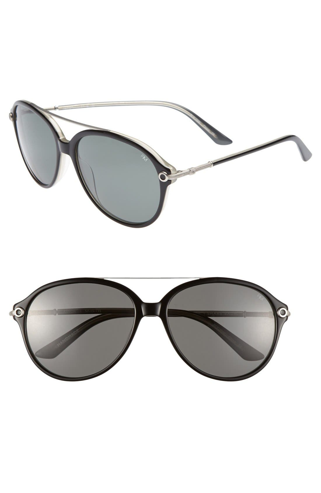 Main Image - Rebecca Minkoff 'Astor' 57mm Sunglasses
